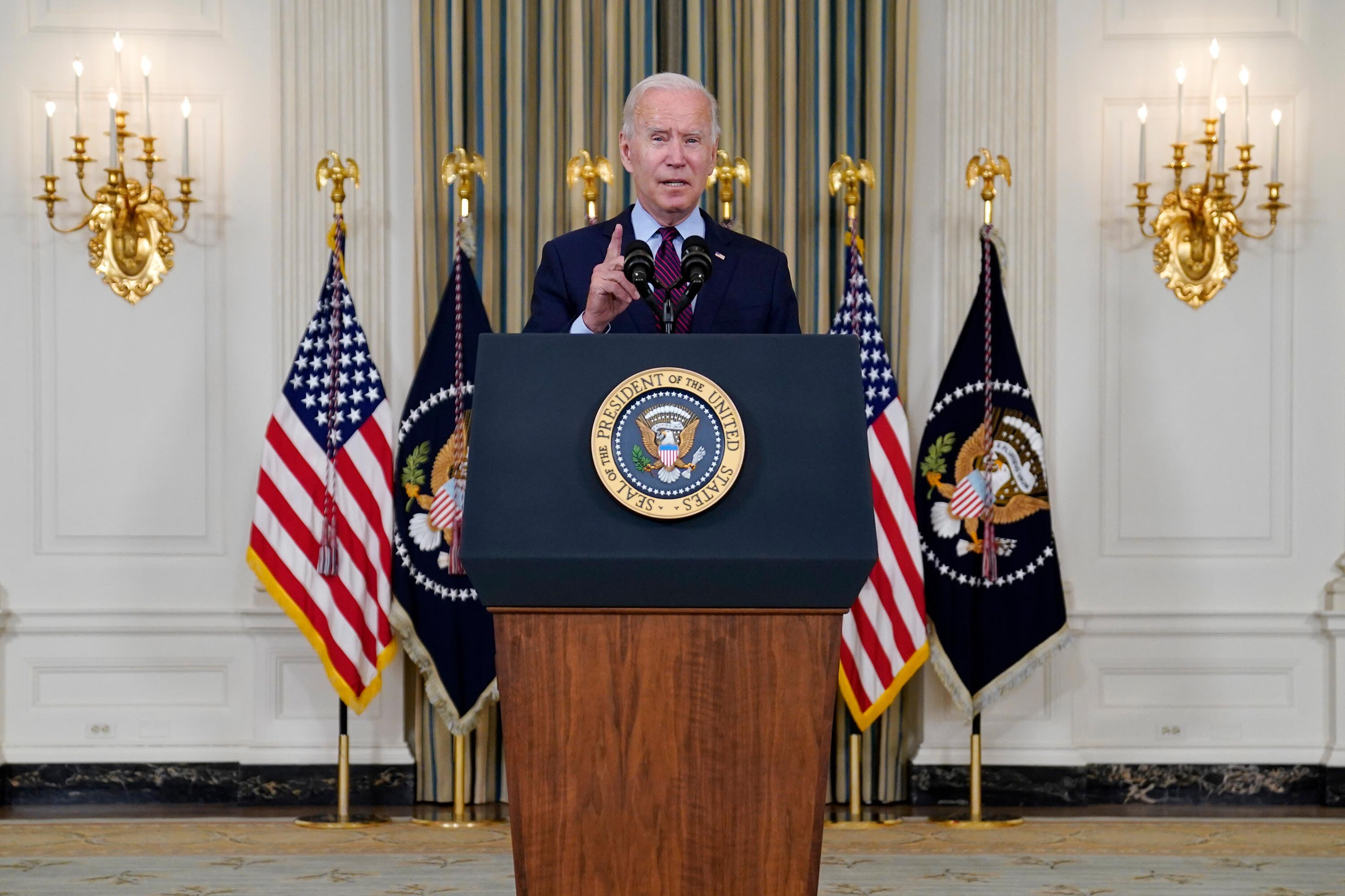 Biden becomes first president to issue proclamation marking Indigenous Peoples' Day