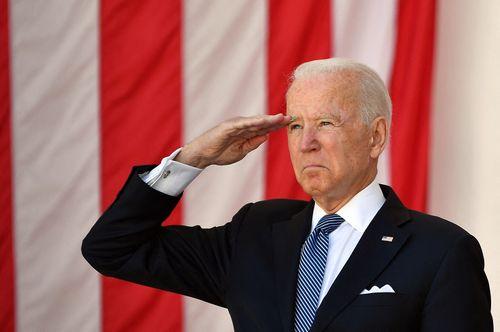 Image for Biden honors fallen service members on Memorial Day