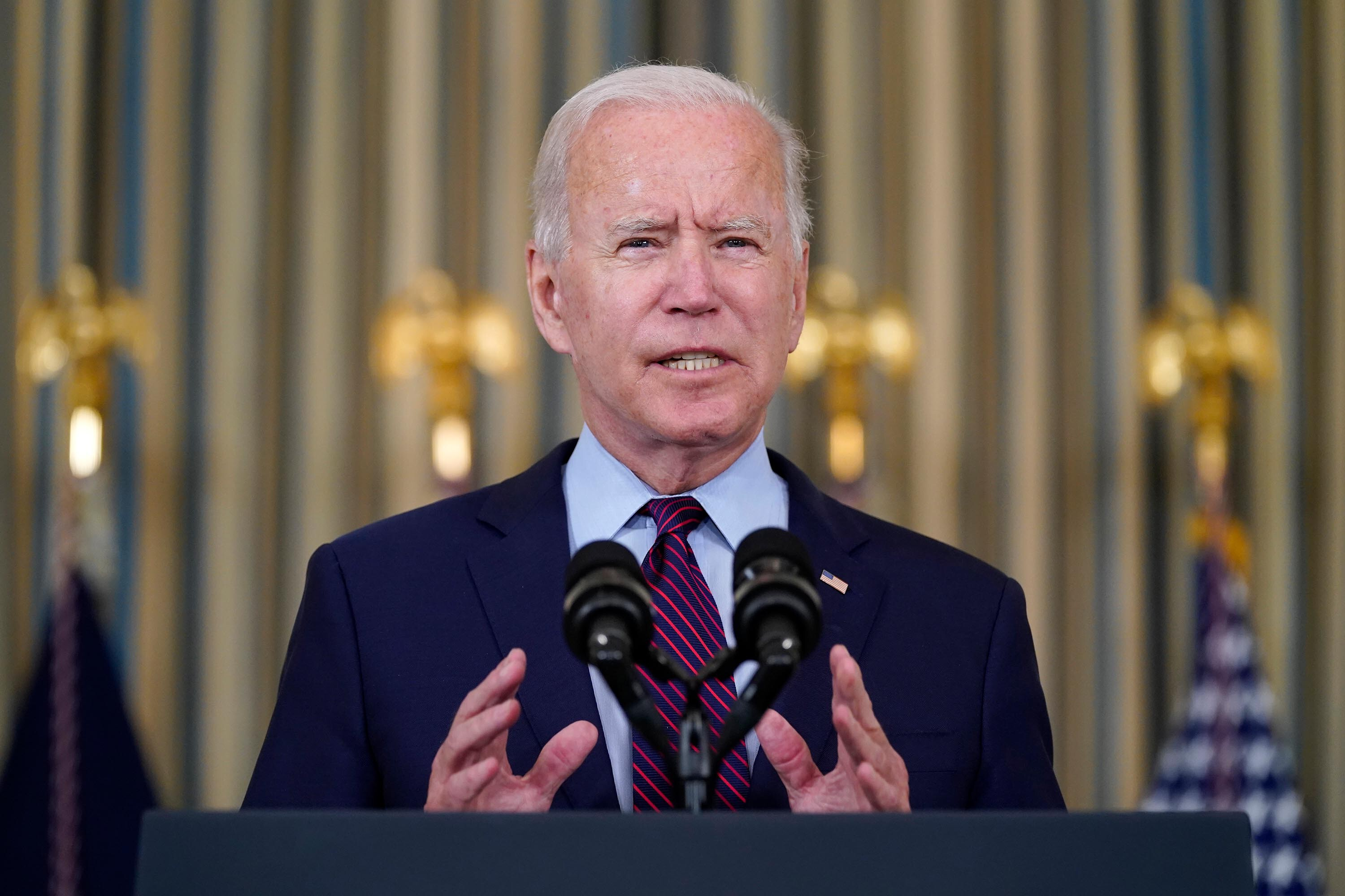 Biden looks to move past Capitol Hill drama as he takes infrastructure pitch back on the road