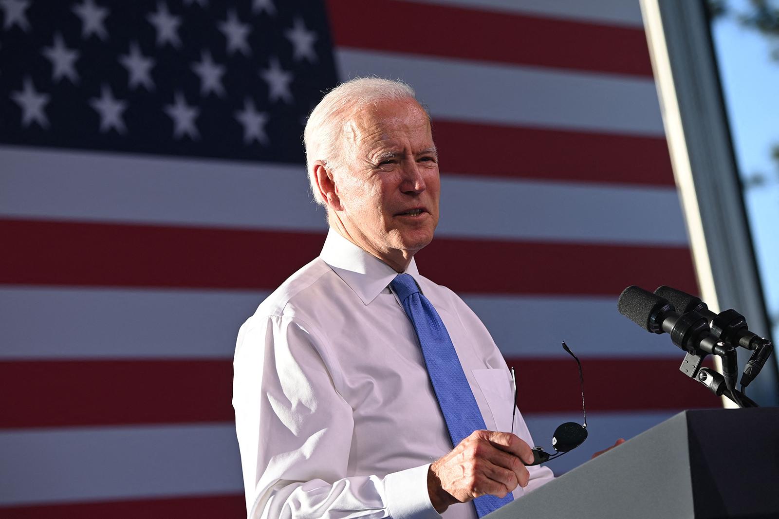 Biden set to push more Americans to get Covid-19 vaccine in North Carolina speech