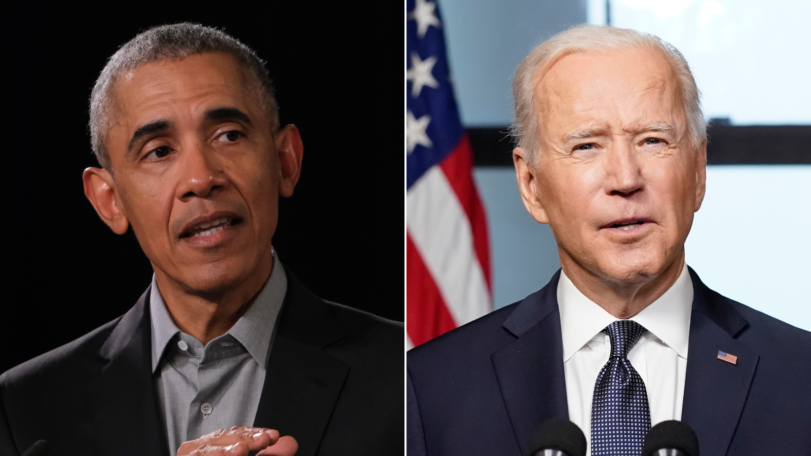 Biden and Obama urge Americans to get vaccinated in star-studded television special