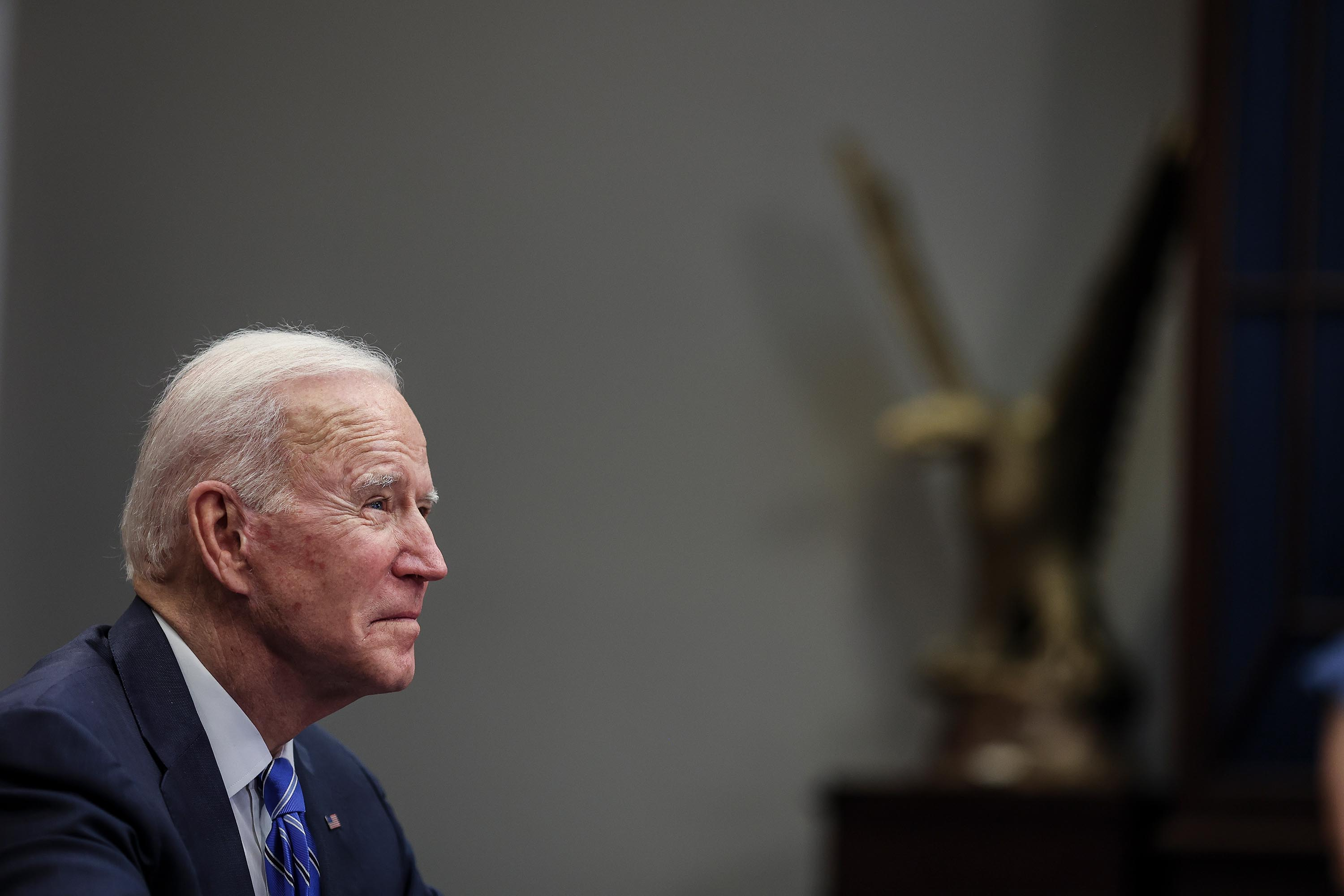 Biden developing pardon process with focus on racial justice, expected to issue acts of clemency before middle of term