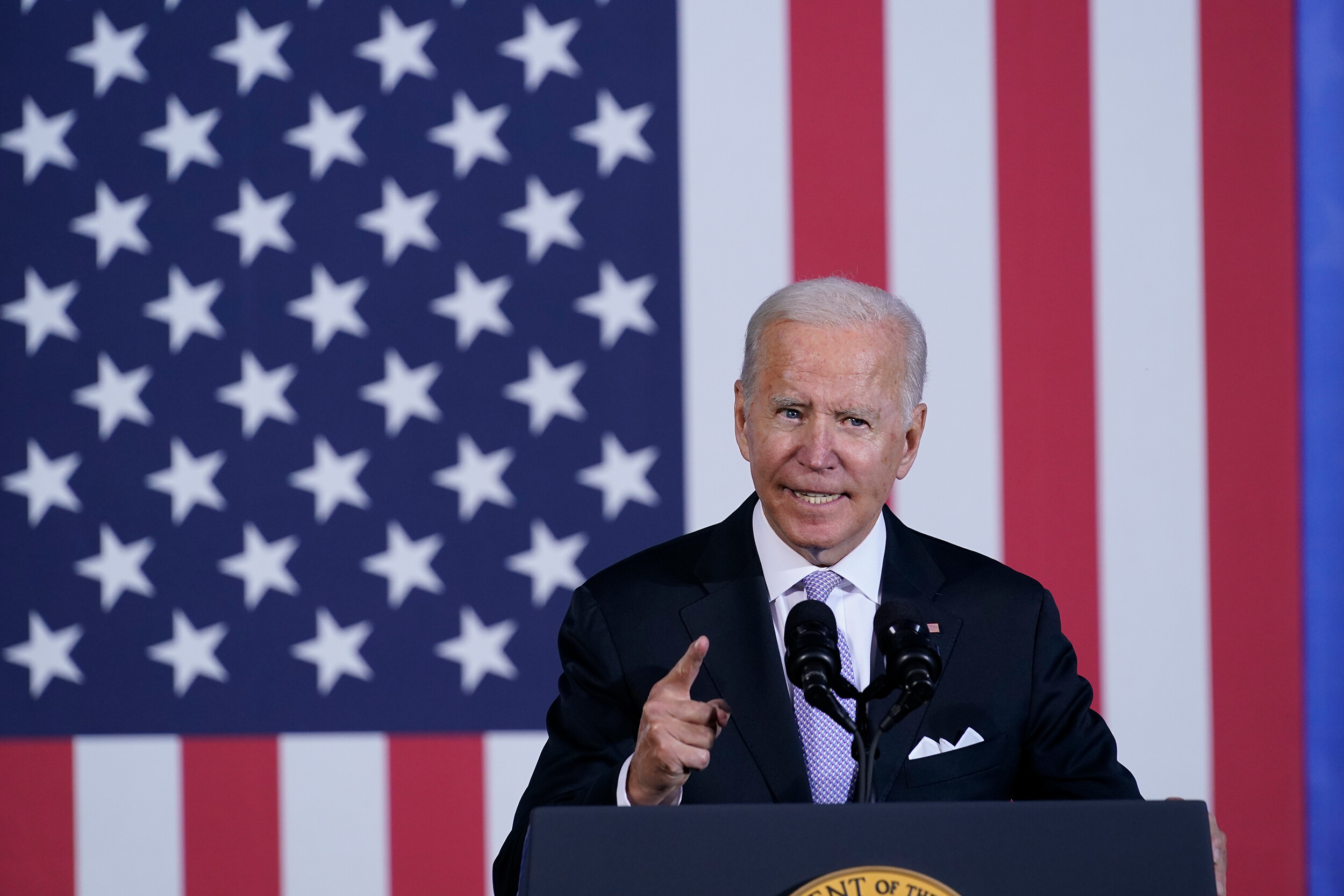 Biden pitches unfinished economic agenda in personal hometown remarks