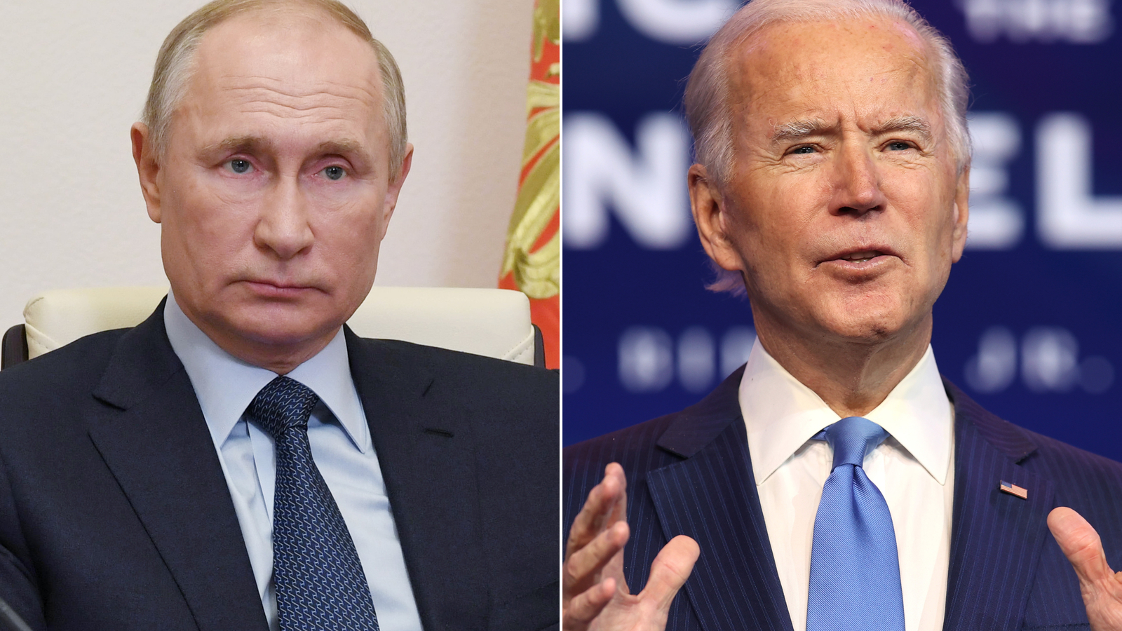 Biden confronts Putin over several issues in first call, White House says
