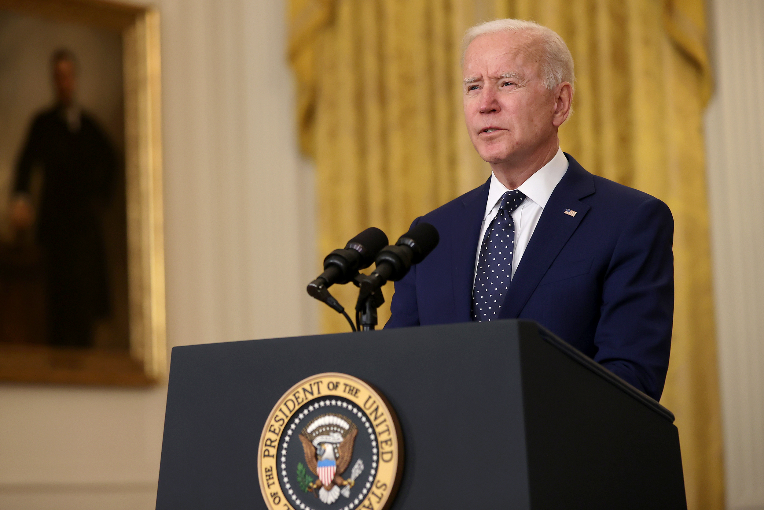 White House backtracks on refugees decision after criticism and says Biden will announce increased cap by May 15