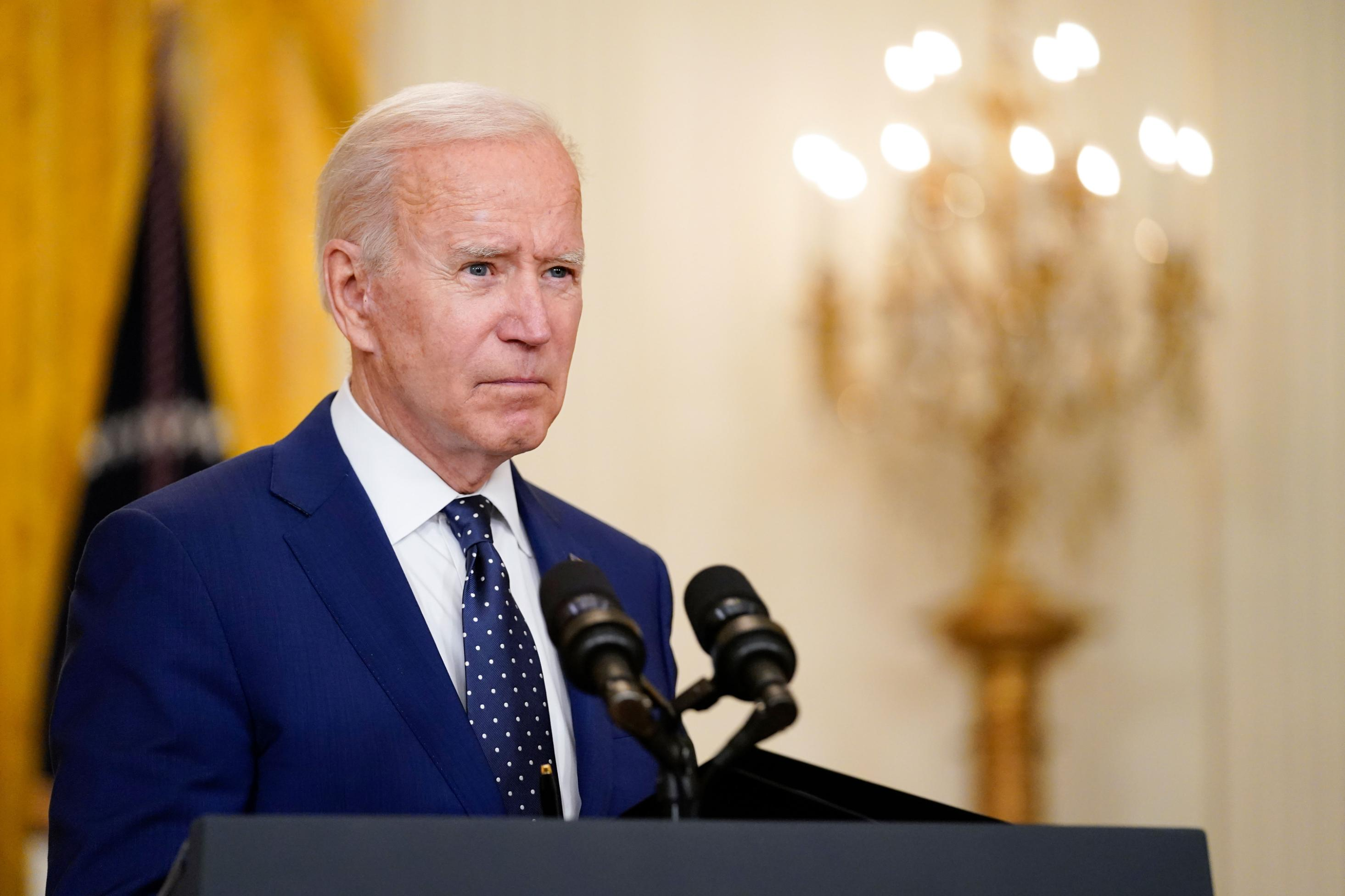 Biden says administration will raise refugee cap in first comments after Friday's back and forth