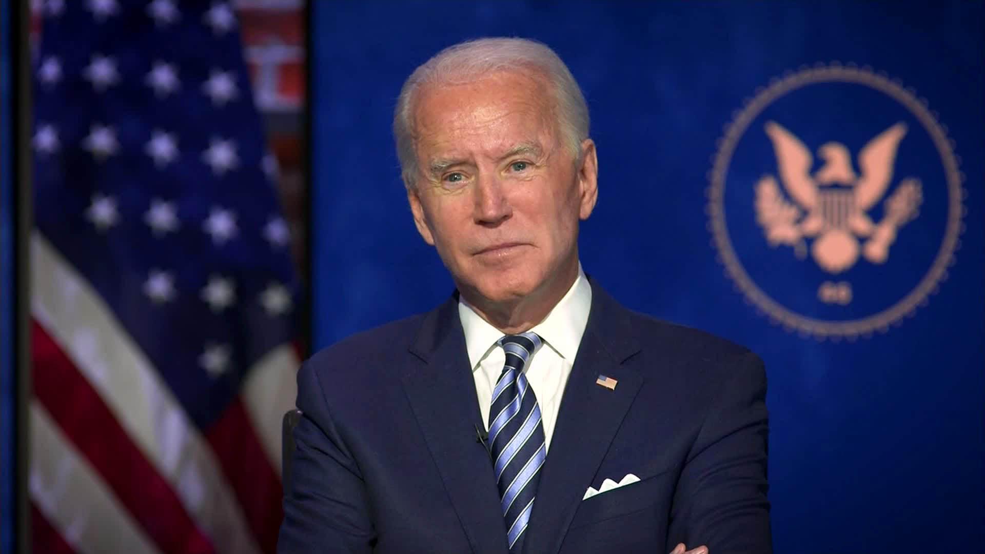 Biden says multiple Republican senators have called to congratulate him on election win