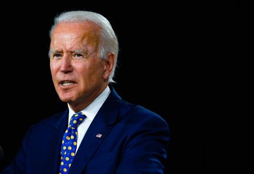 Image for Biden says he will not release list of his potential Supreme Court nominees before election