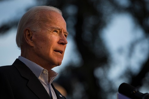 Biden denies allegations of sexual harassment