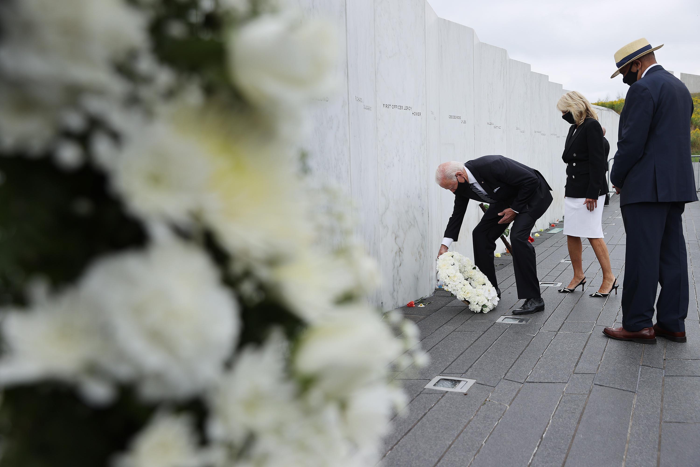 Biden to travel to New York, Pennsylvania, and Virginia to mark 20th anniversary of the 9/11 terrorist attacks