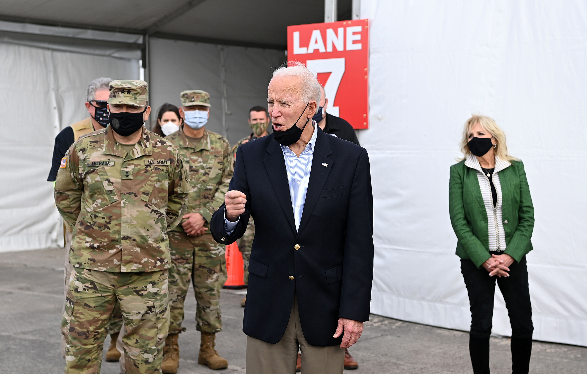 Biden's message to Iran with missile strikes: 'You can't act with impunity, be careful'