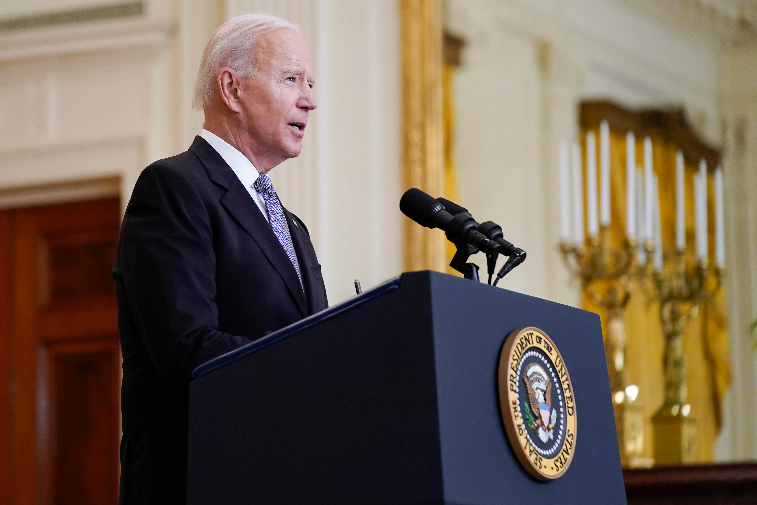 White House says Biden will release tax returns 'soon'