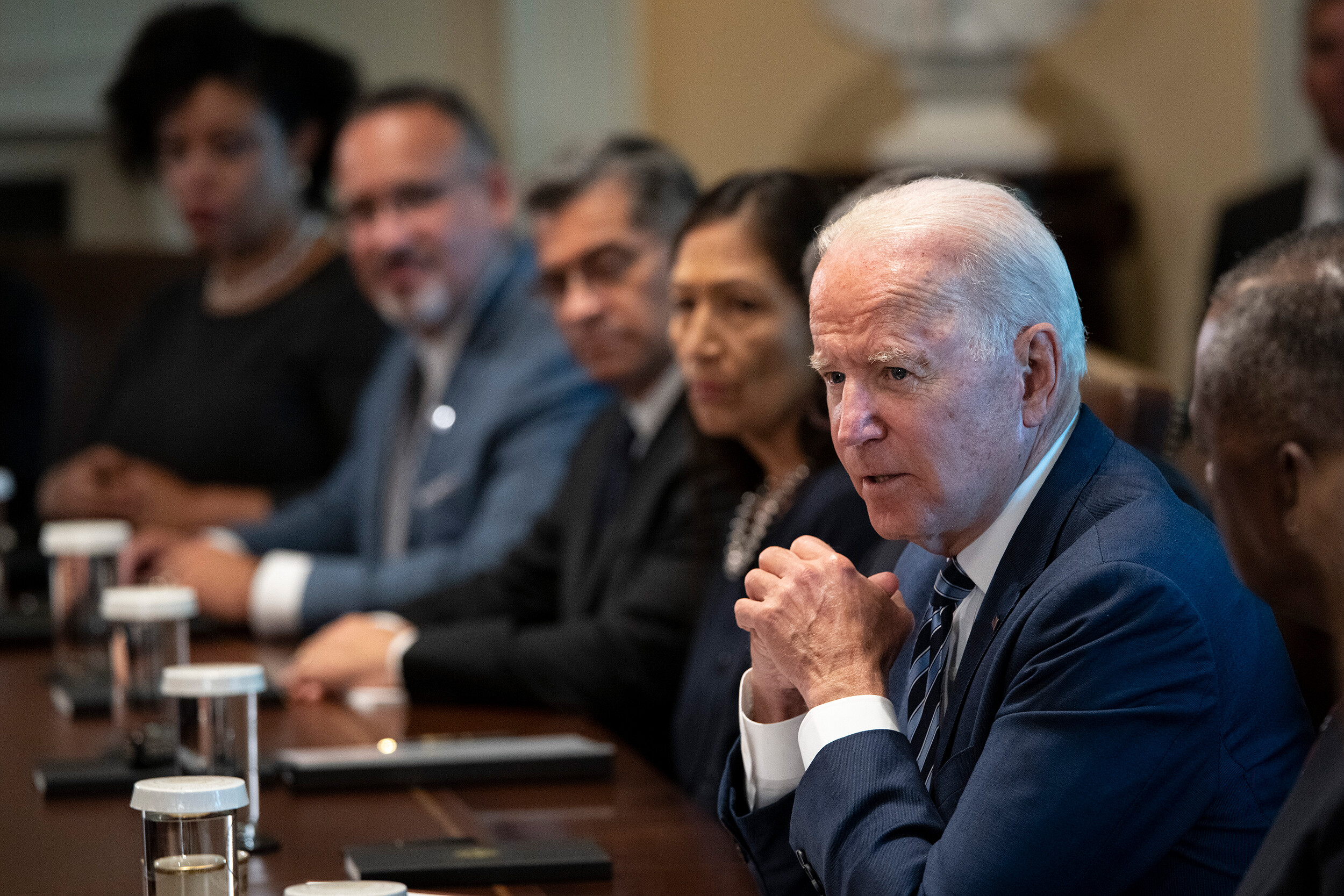 Boosters, masks and mandates: Biden's team sorts through options for containing Covid surge among unvaccinated Americans