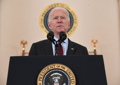 Image for Biden set for consoler-in-chief visit to winter storm-battered Texas