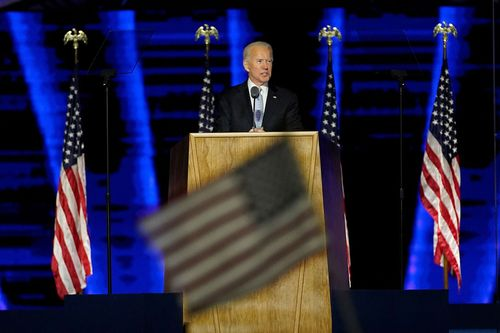 Image for Biden moves ahead with transition as Trump fights election results
