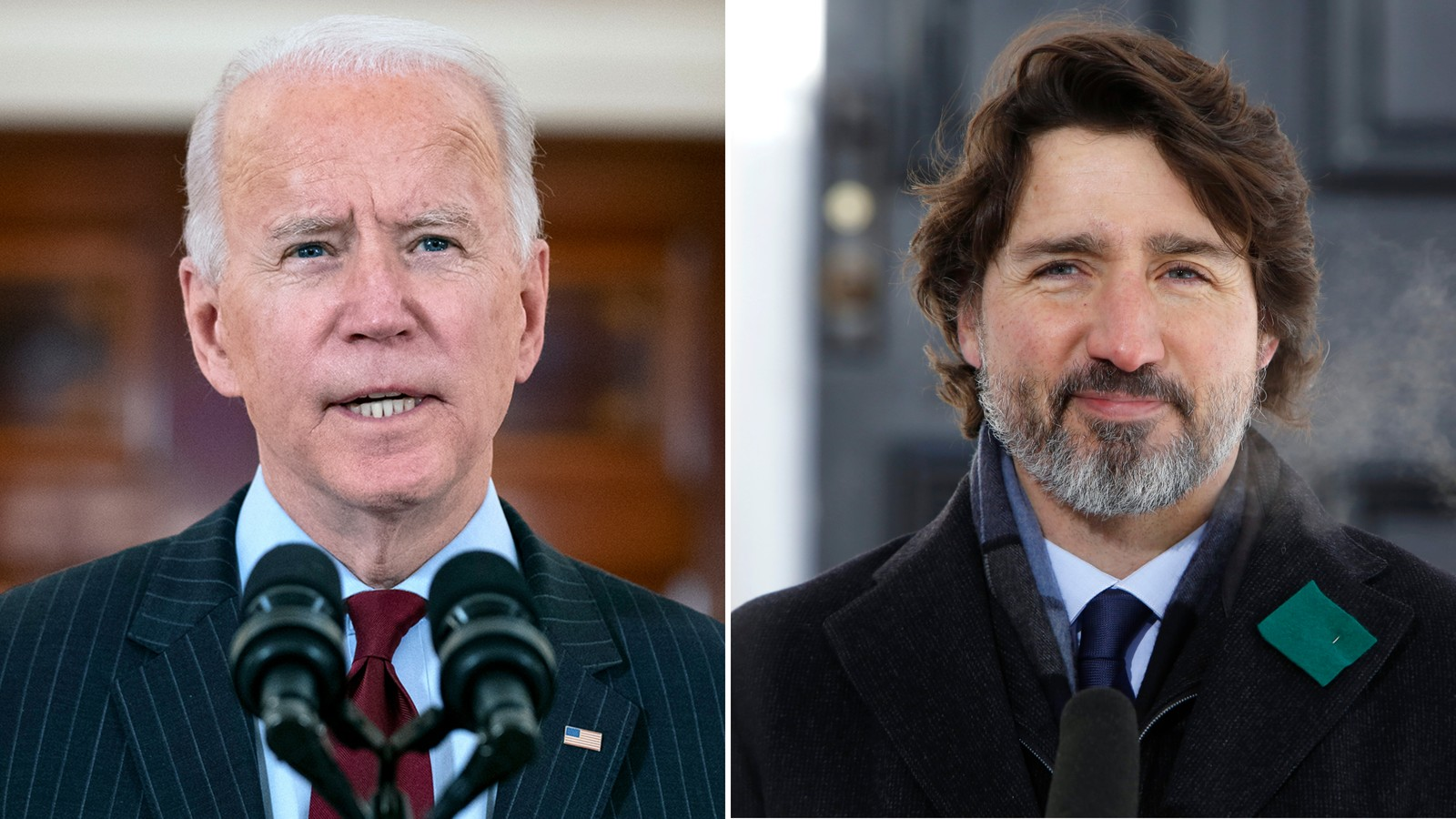 Biden and Trudeau stress US-Canadian bonds in virtual meeting