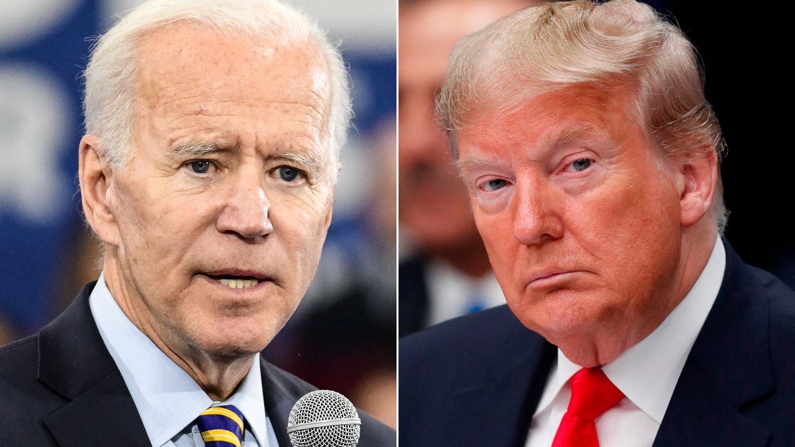 Biden and Trump speak by phone about coronavirus response