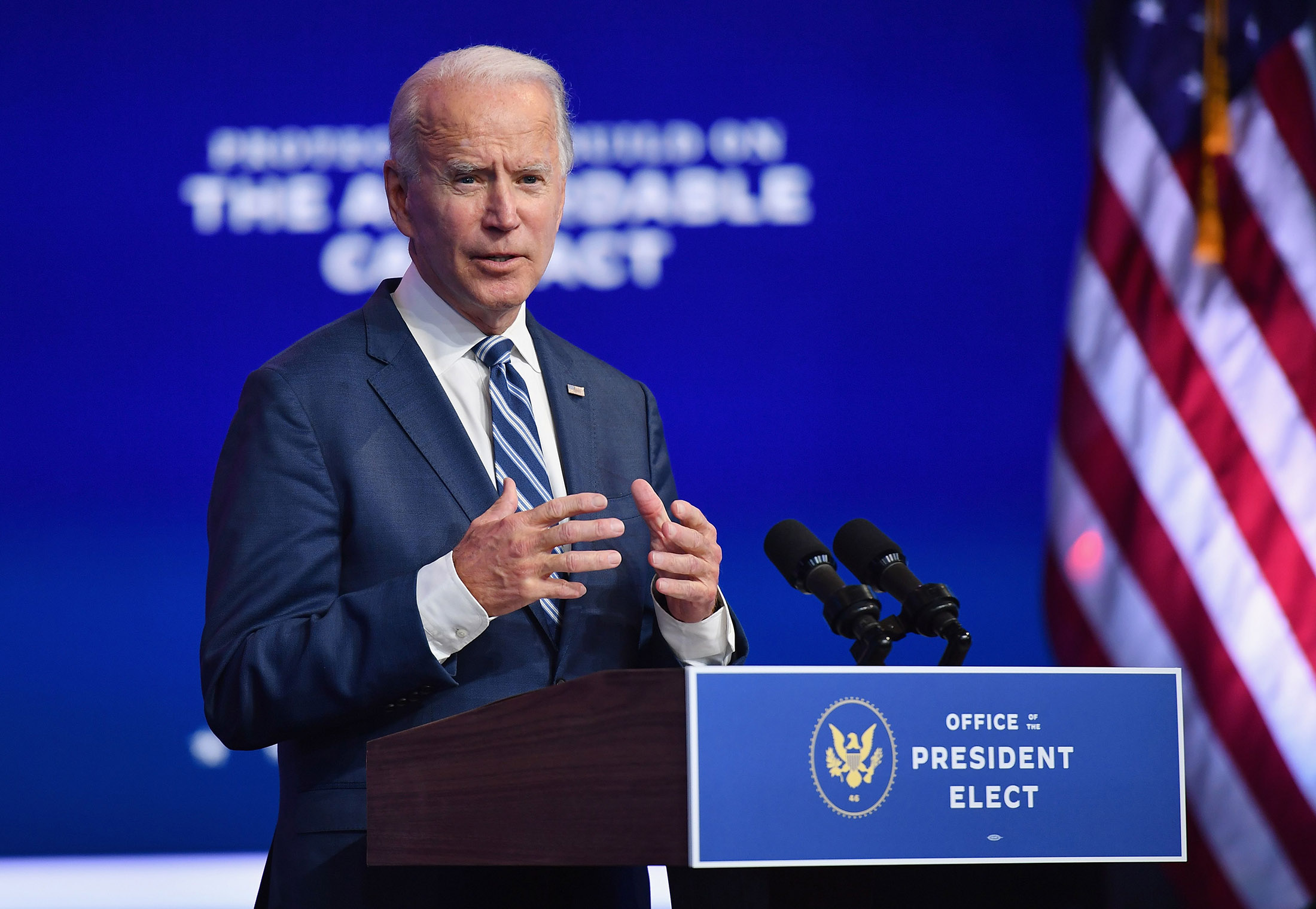 Biden on Trump administration distributing vaccine: 'There is no detailed plan'
