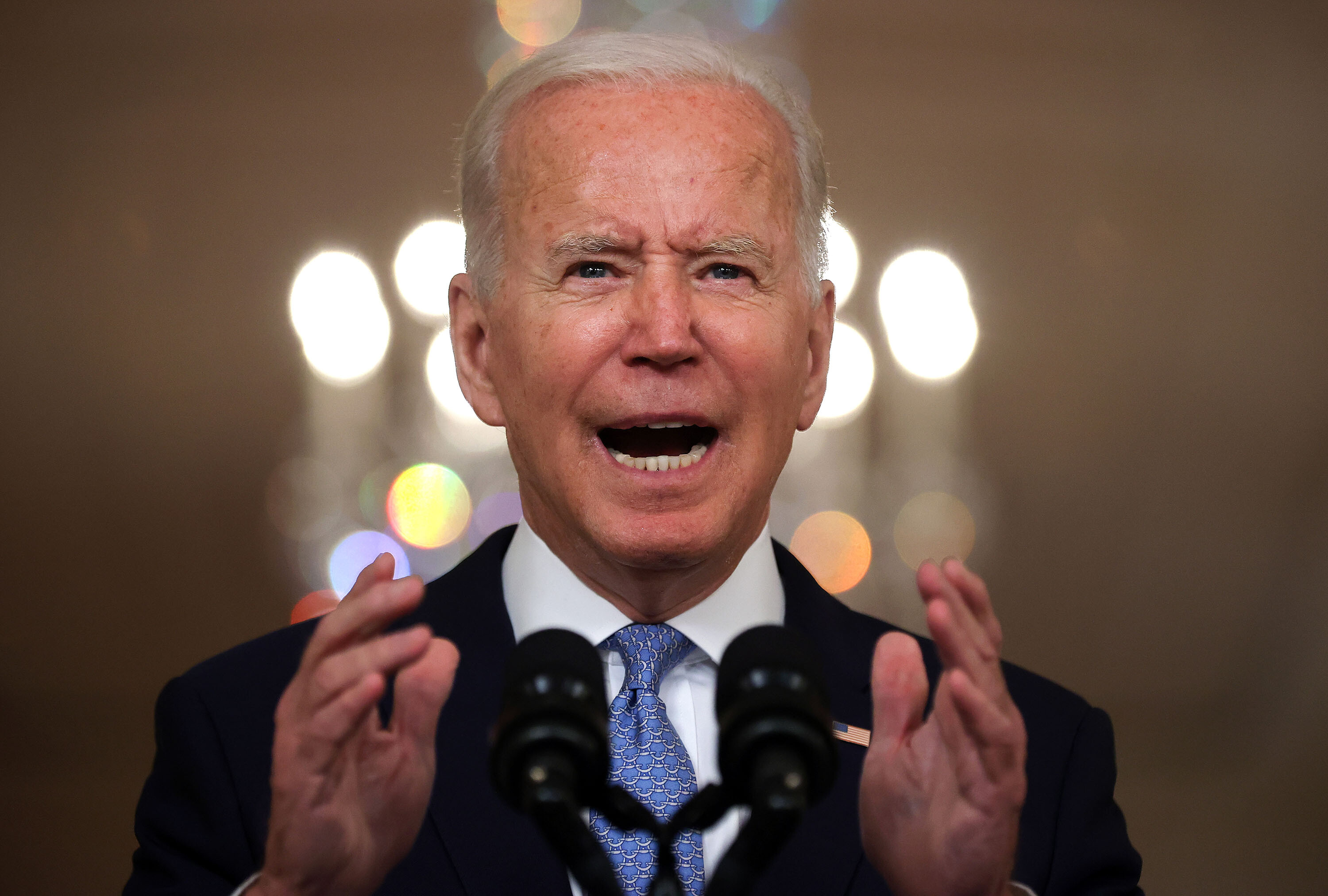 Biden blasts Texas' 6-week abortion ban as 'extreme' and violation of a constitutional right