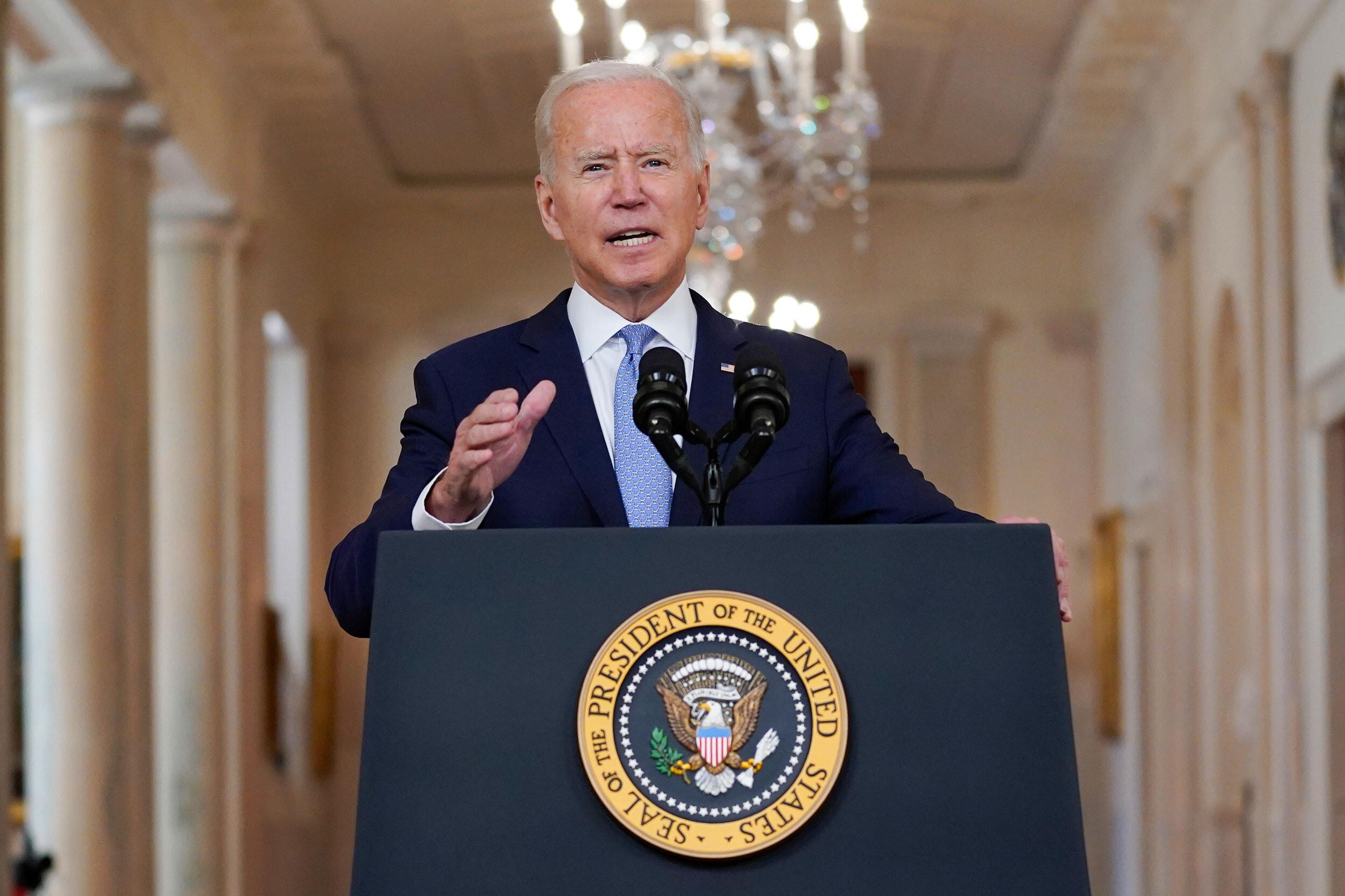 Biden says Texas' anti-abortion law is 'almost un-American' and 'sort of creates a vigilante system'