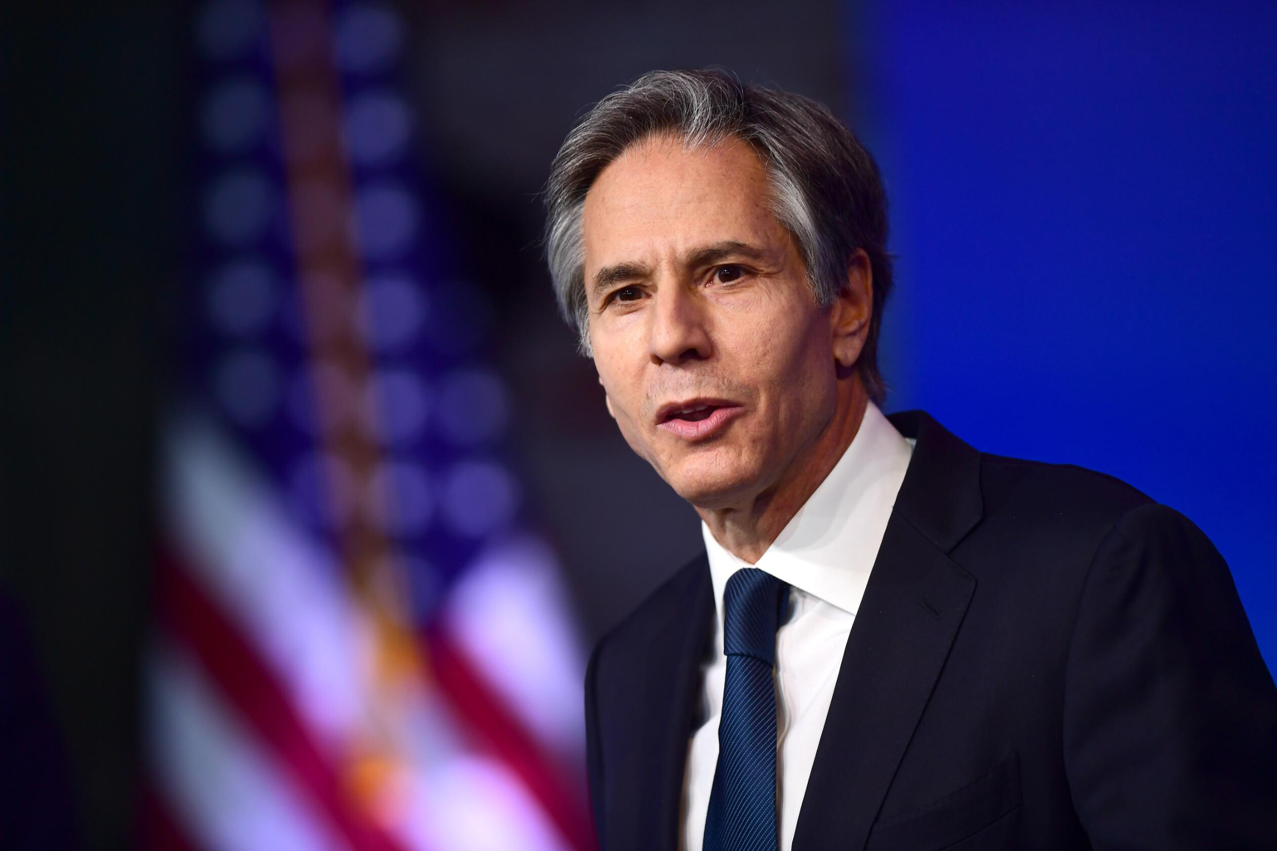 Blinken lays out pillars for cyber diplomacy, says 'our democratic values and way of life' are at stake