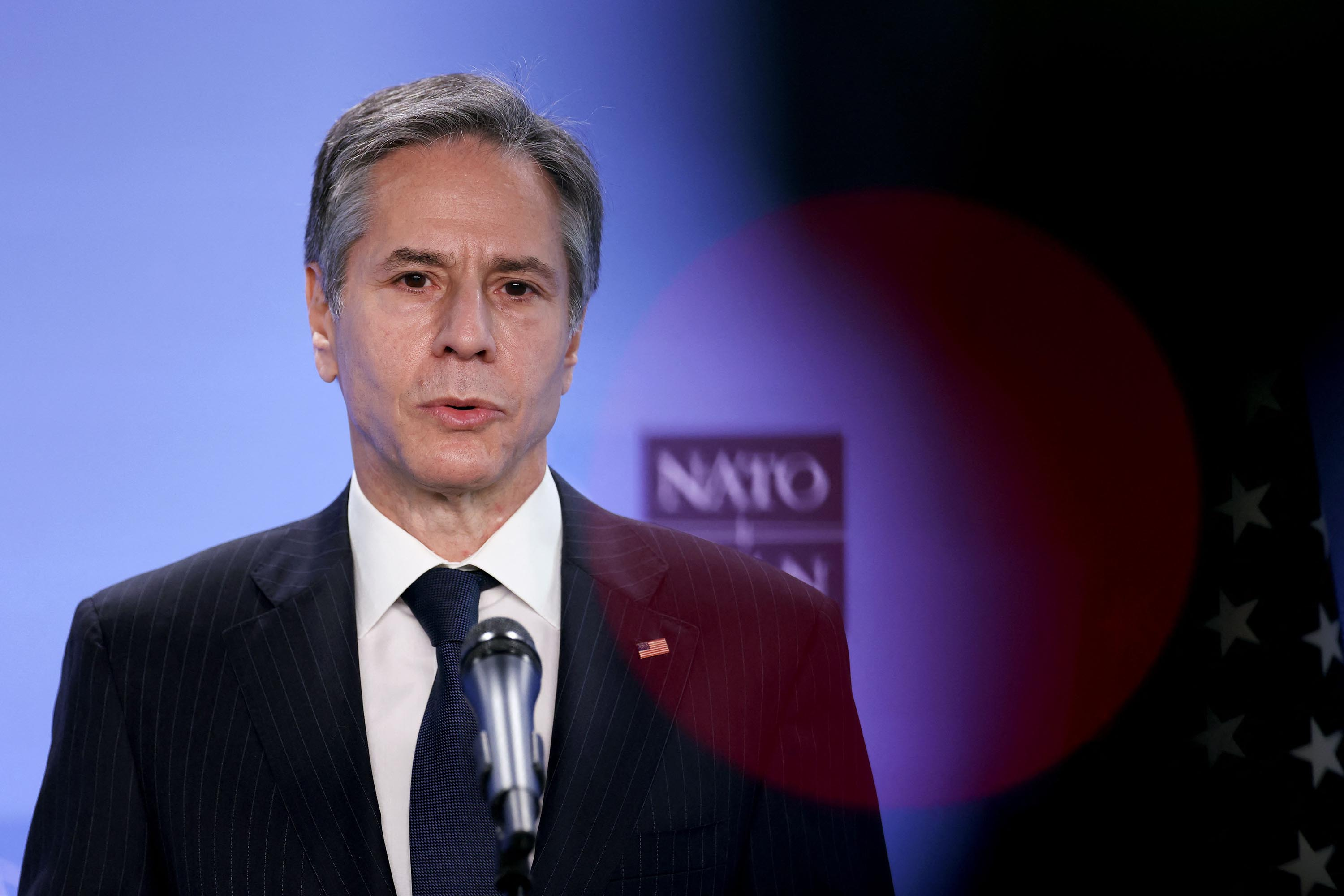 Blinken says US 'actively looking' at boosting security cooperation with Ukraine during trip to Kiev