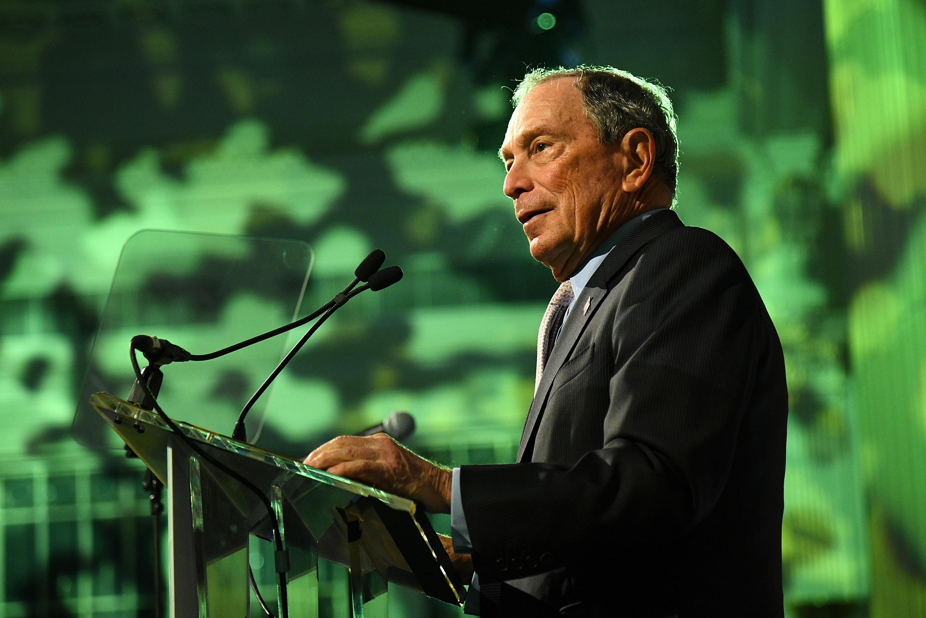 Bloomberg plans to spend $100 million on anti-Trump ads in key states