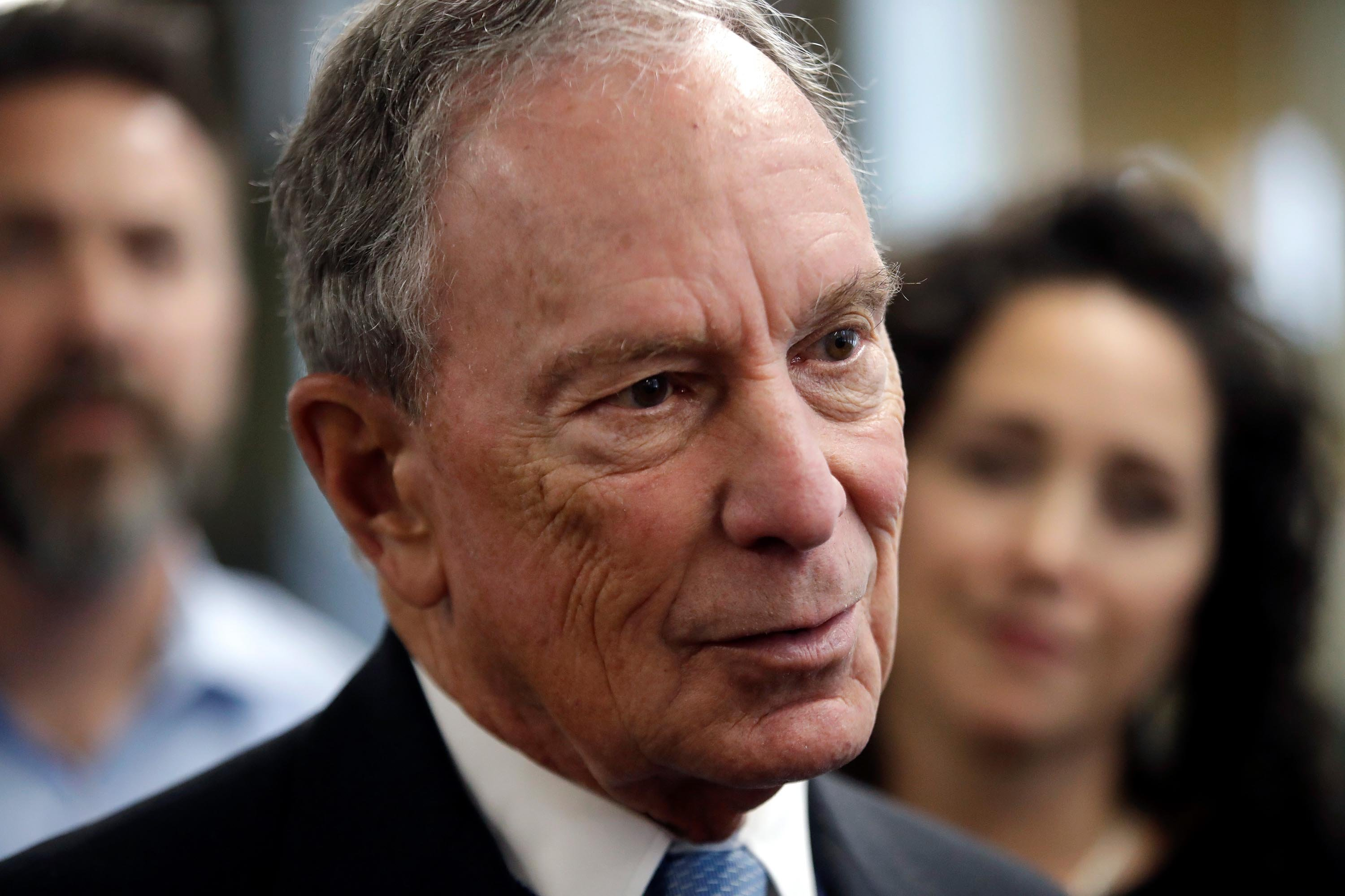 Michael Bloomberg visits Arkansas to file for state's Democratic presidential primary