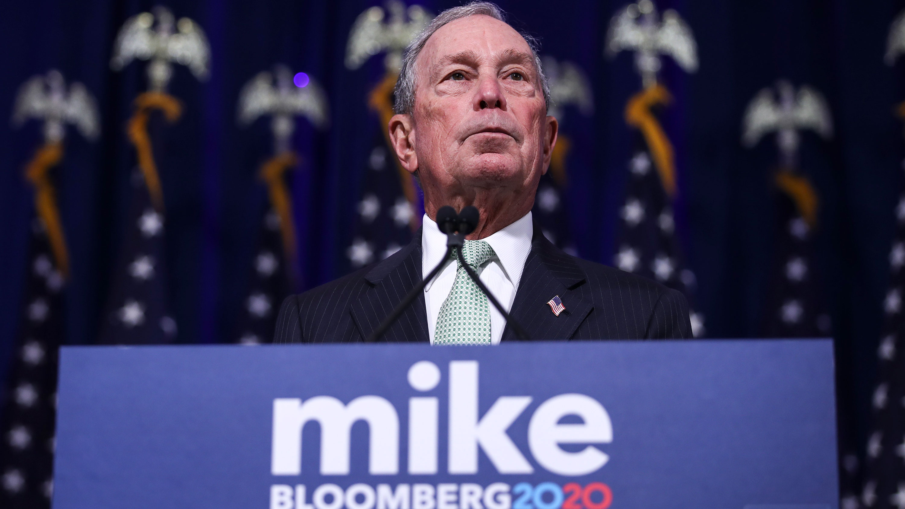 Michael Bloomberg: 'I'd have to swallow two or three times' but would vote to convict Trump