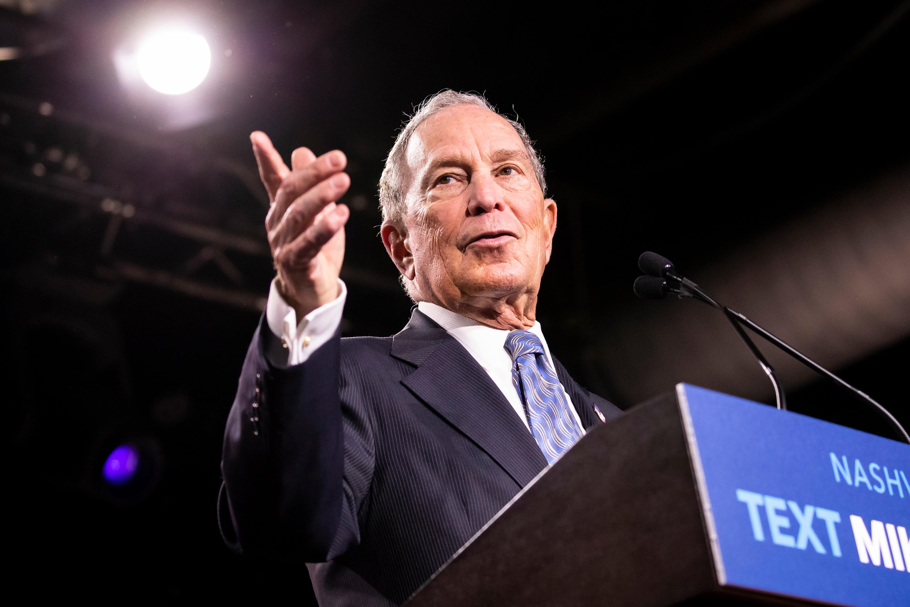 Bloomberg qualifies for Wednesday's Democratic debate — his first