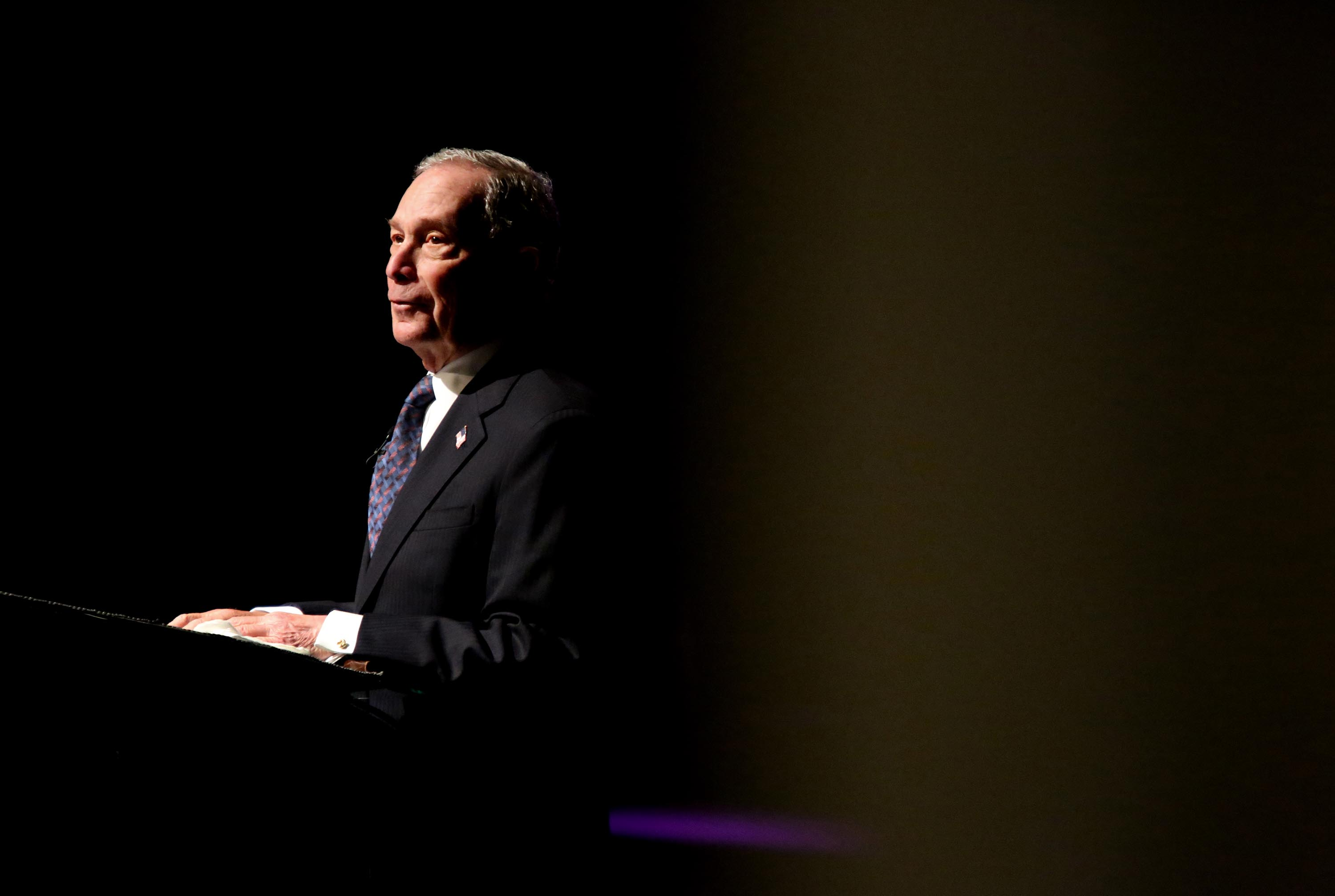 Bloomberg claims he wasn't asked about stop and frisk until he ran for president. That's not true.