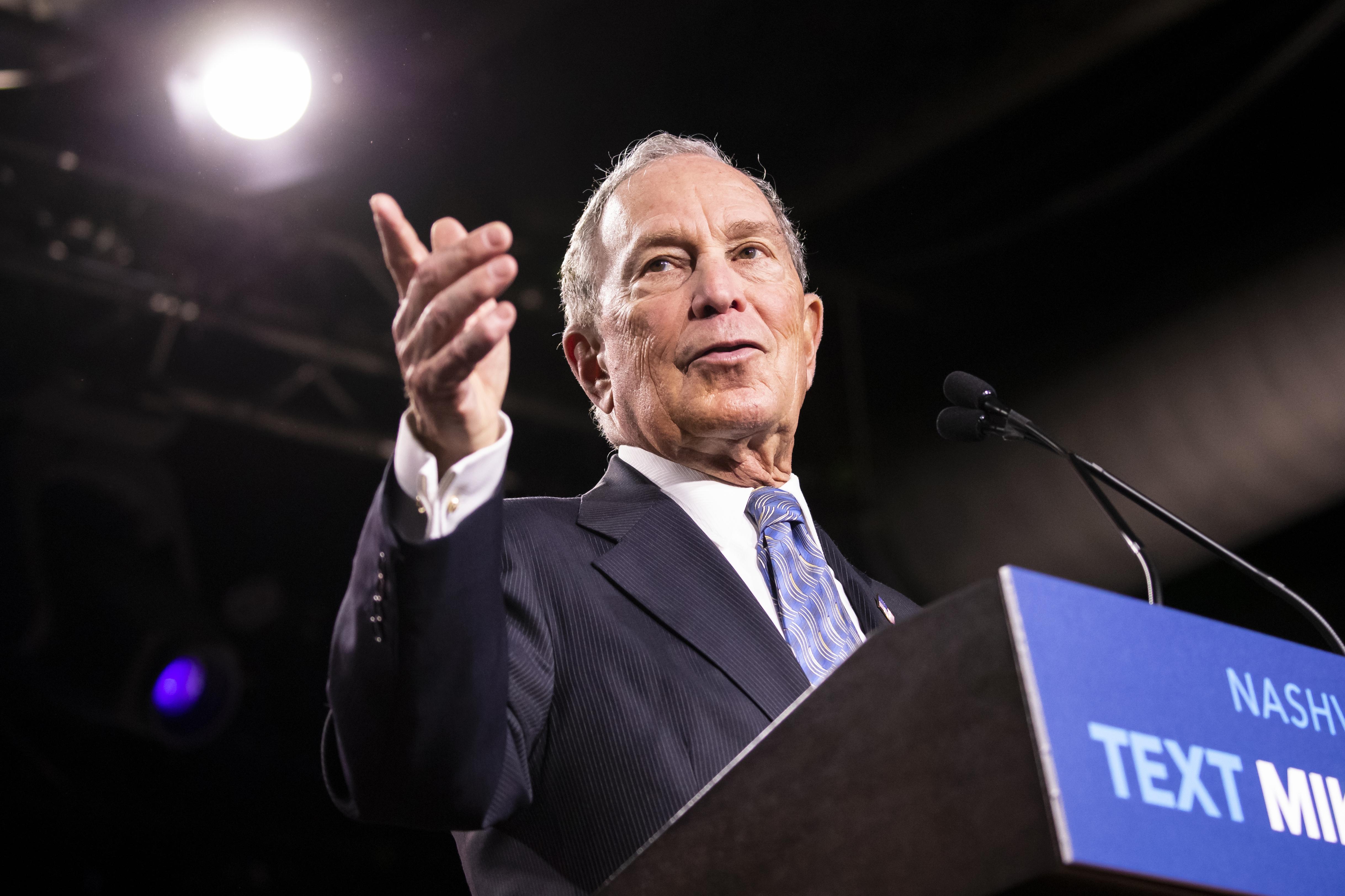 Bloomberg's VERY expensive debate performance
