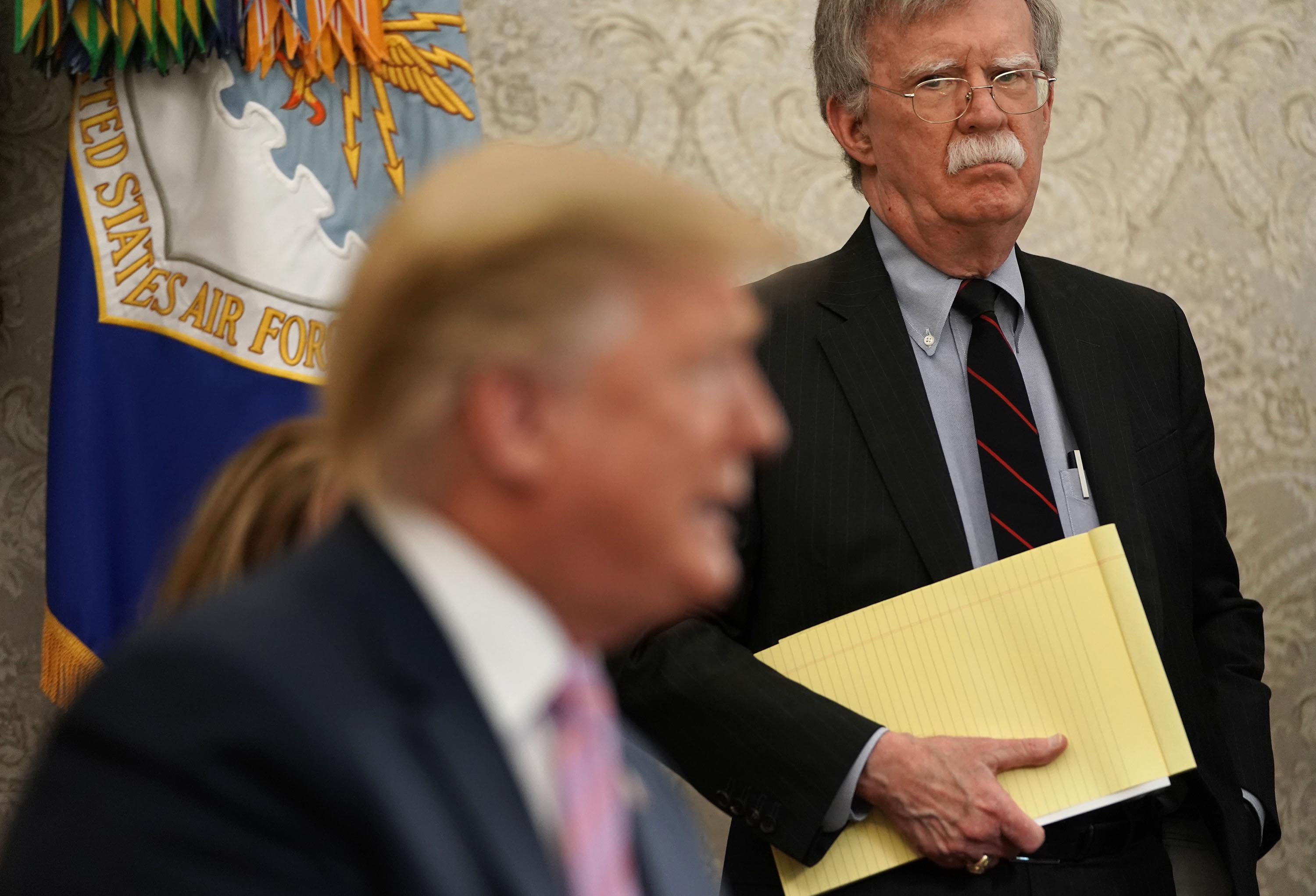 Bolton: 'I have enough scars' from bringing up Russia-related intelligence with Trump