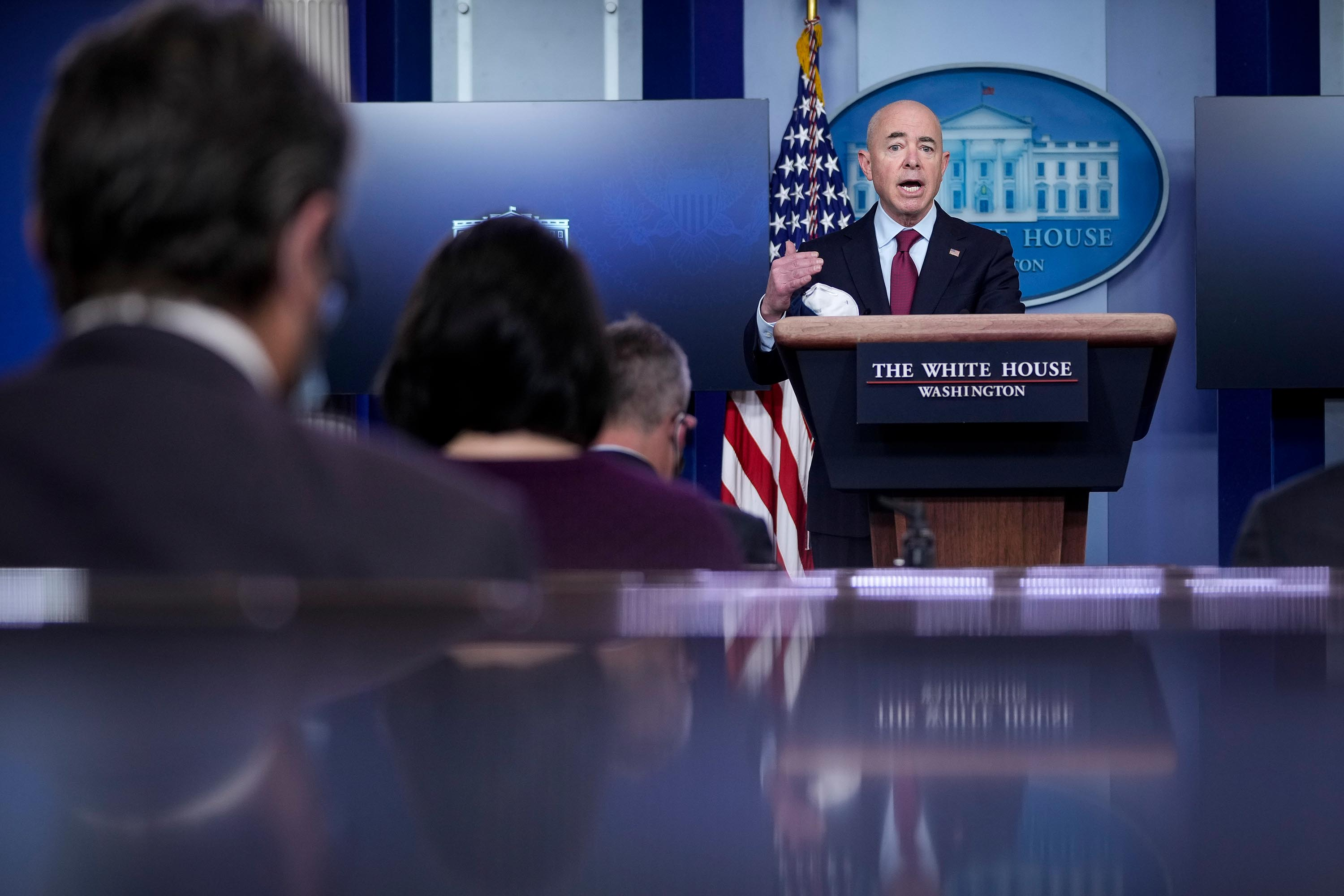 Families separated at the border could be reunited in US, Homeland Security secretary says