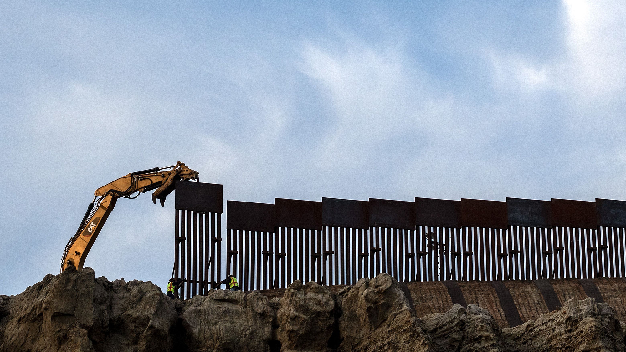 Defense Department slams brakes on border wall as it reviews Biden order