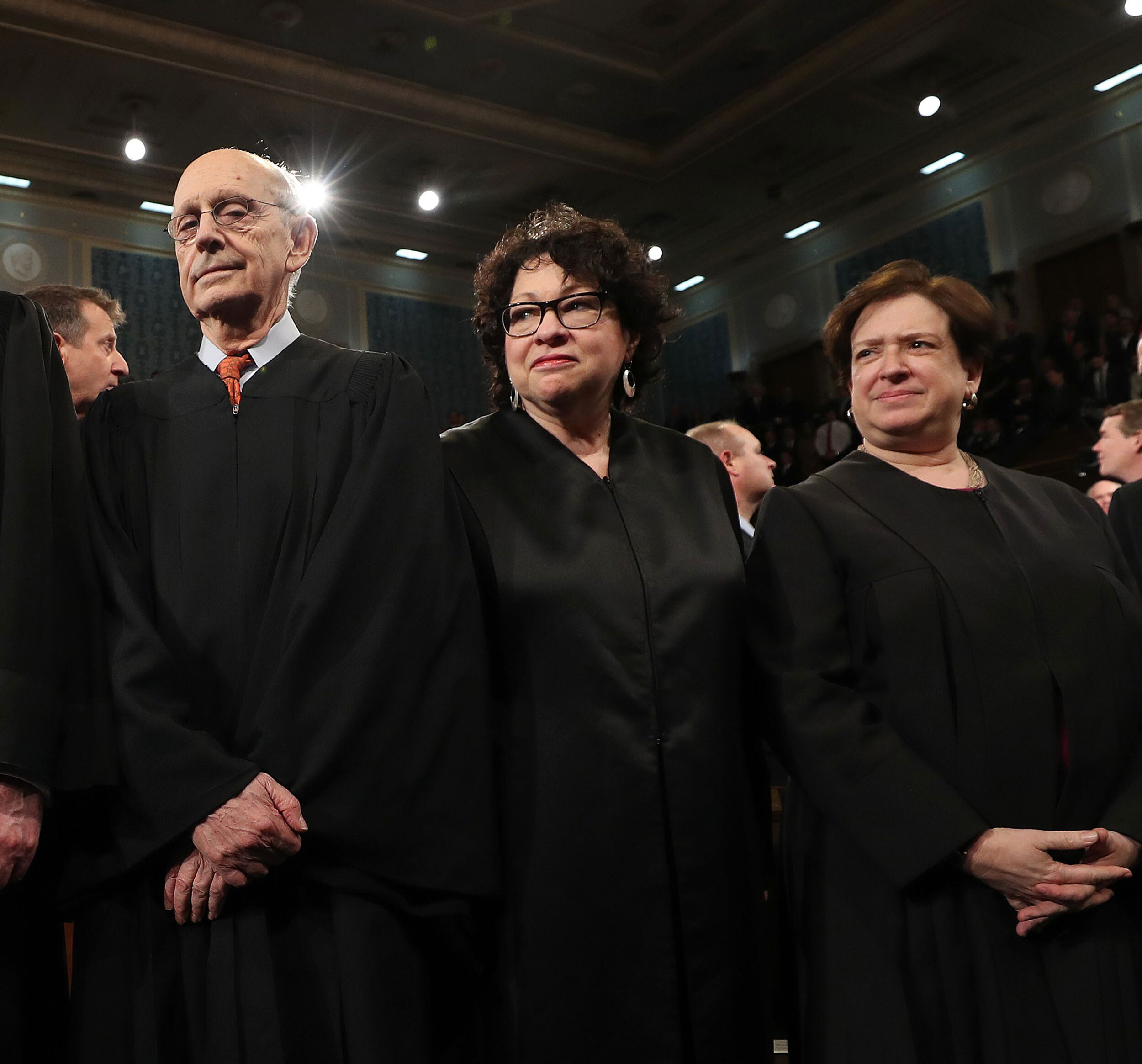 It's a liberals' lament at the Supreme Court now for Breyer, Sotomayor and Kagan