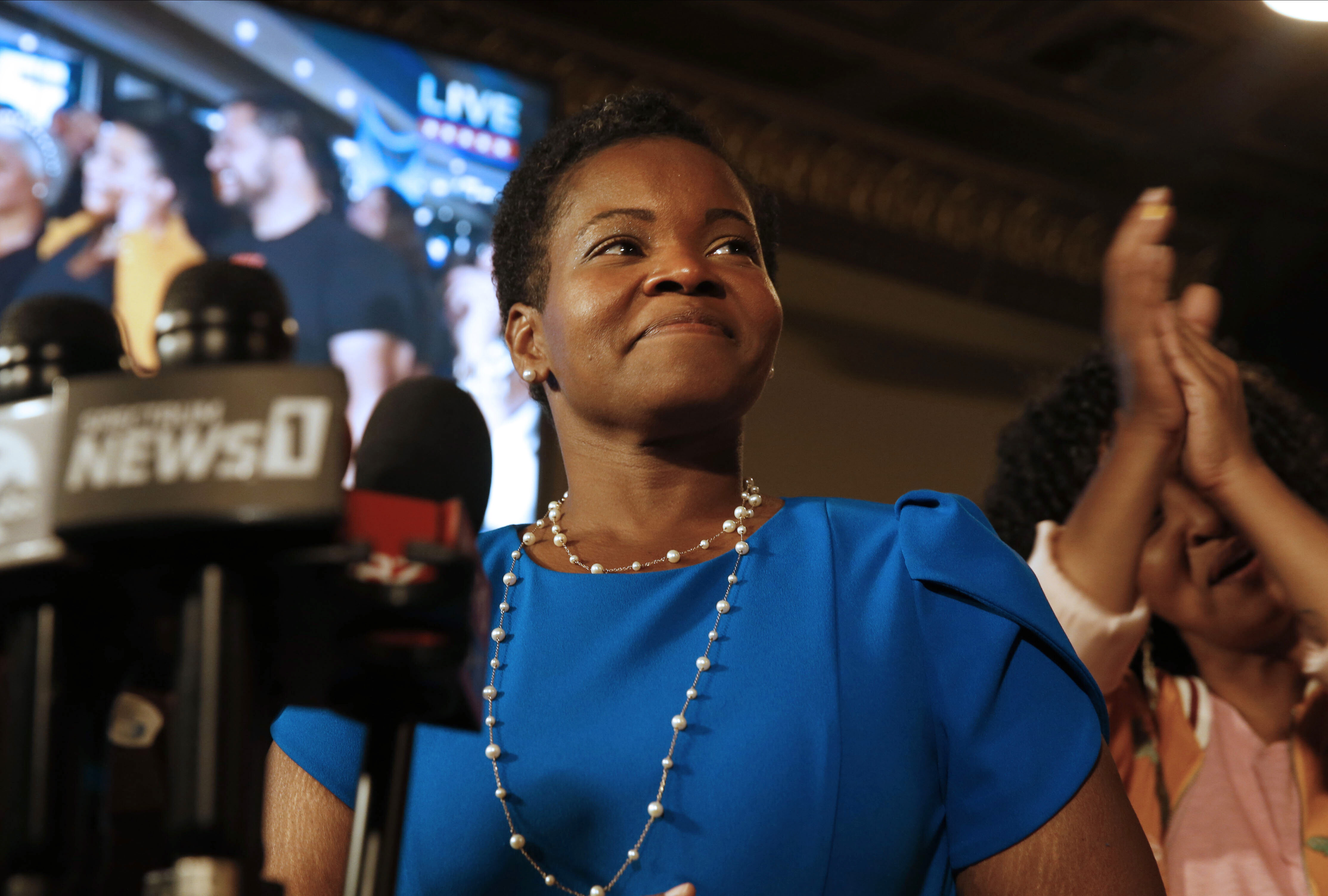 Buffalo's India Walton won the Democratic primary for mayor. Now she has to defeat incumbent Byron Brown — again