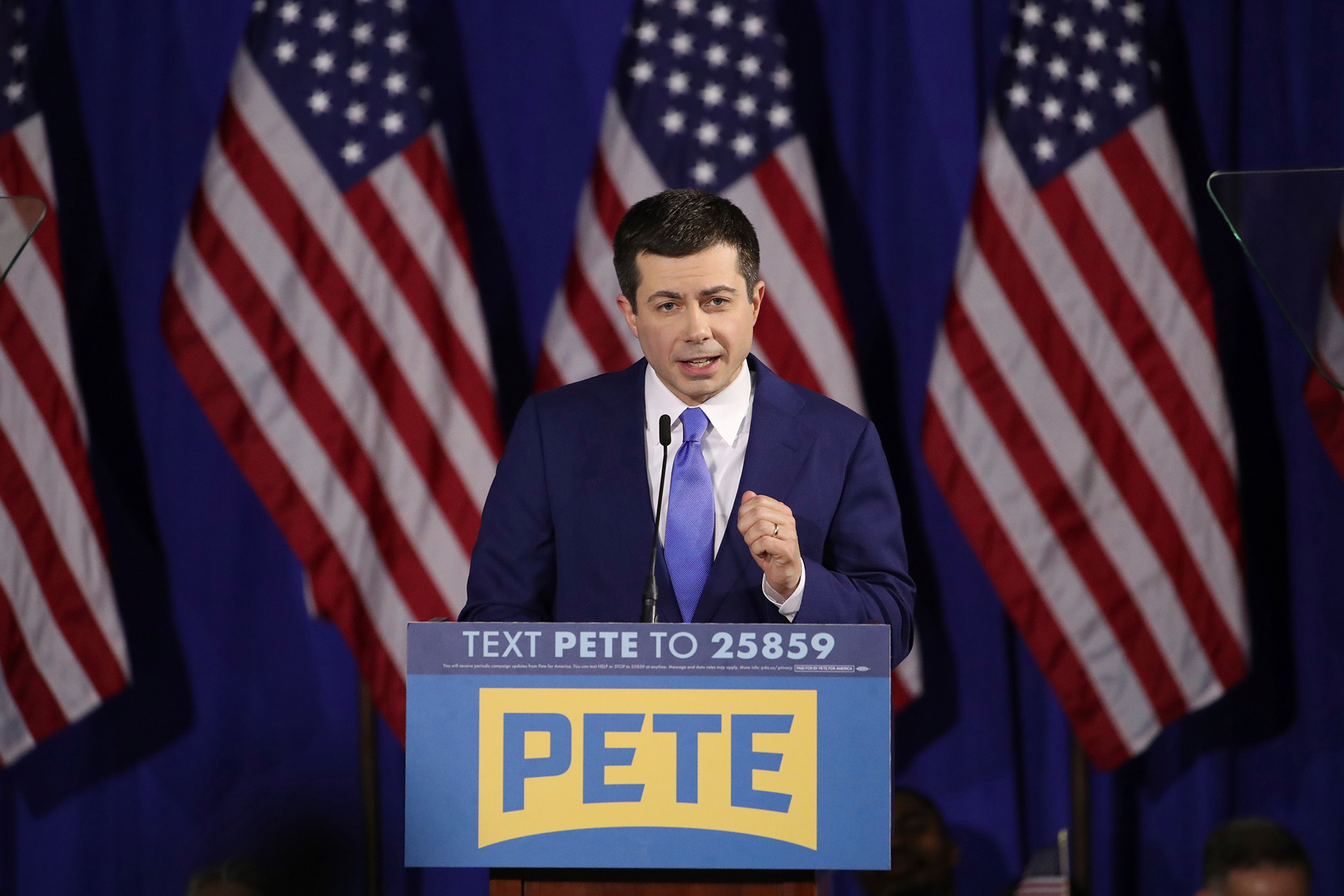 Buttigieg tells voter worried about 'socialist' Sanders losing to Trump: 'I share that concern'