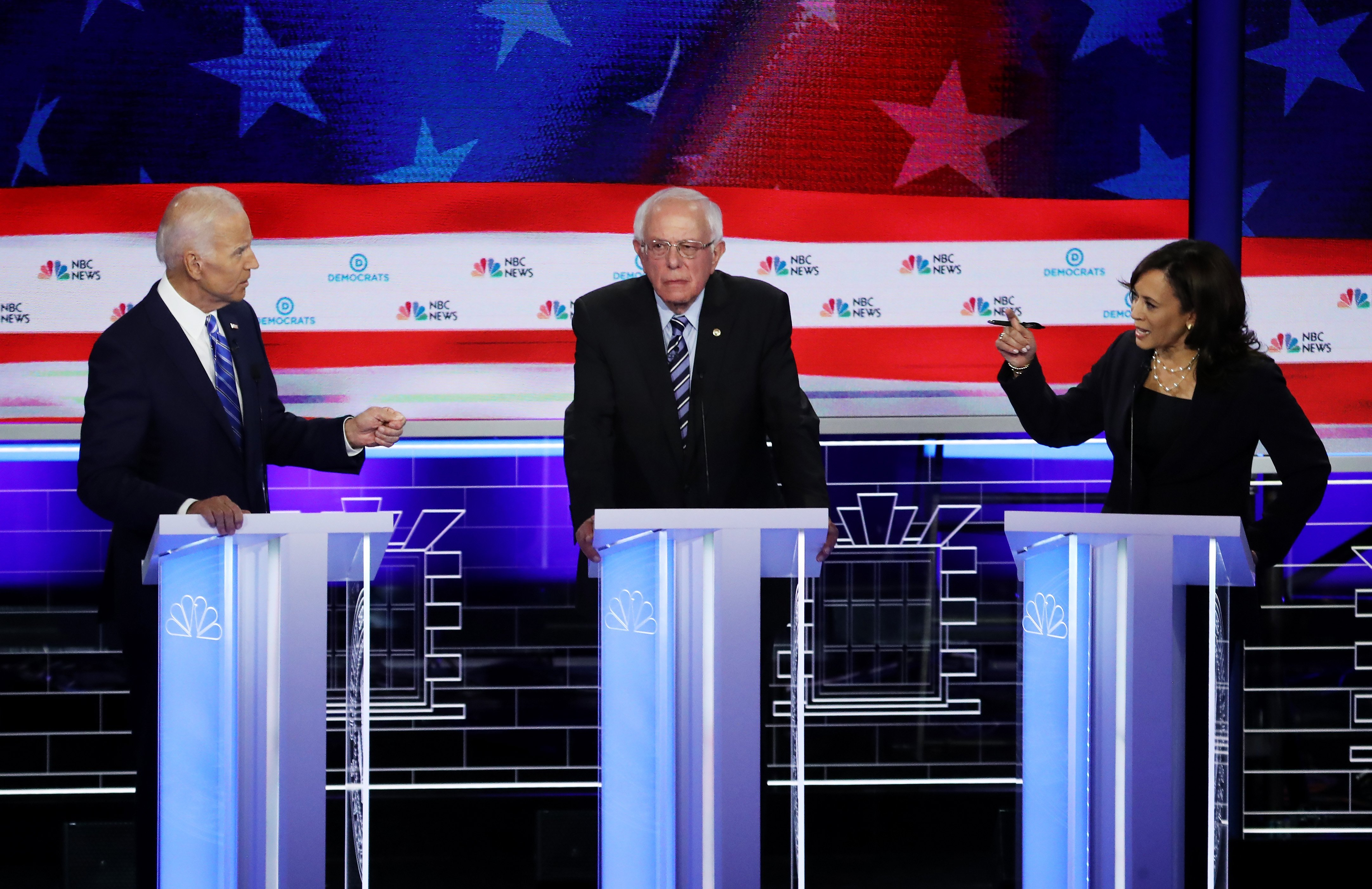 Kamala Harris, Joe Biden and Bernie Sanders come out on top in Quinnipiac California poll