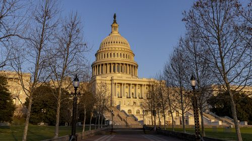 Image for Fencing Around Capitol Comes Down More Than 2 Months After Insurrection