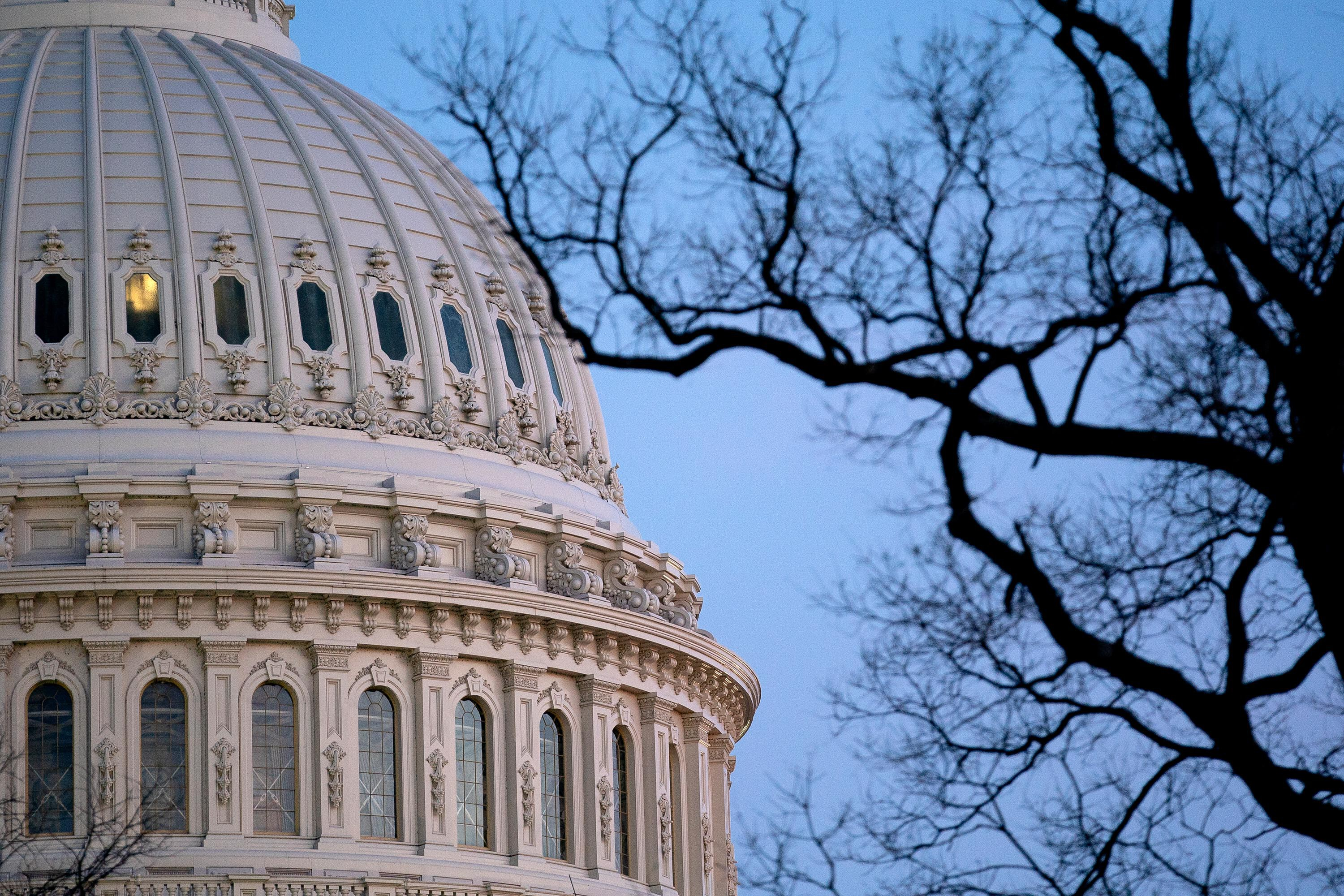Police officer attacked by woman carrying a baseball bat near US Capitol
