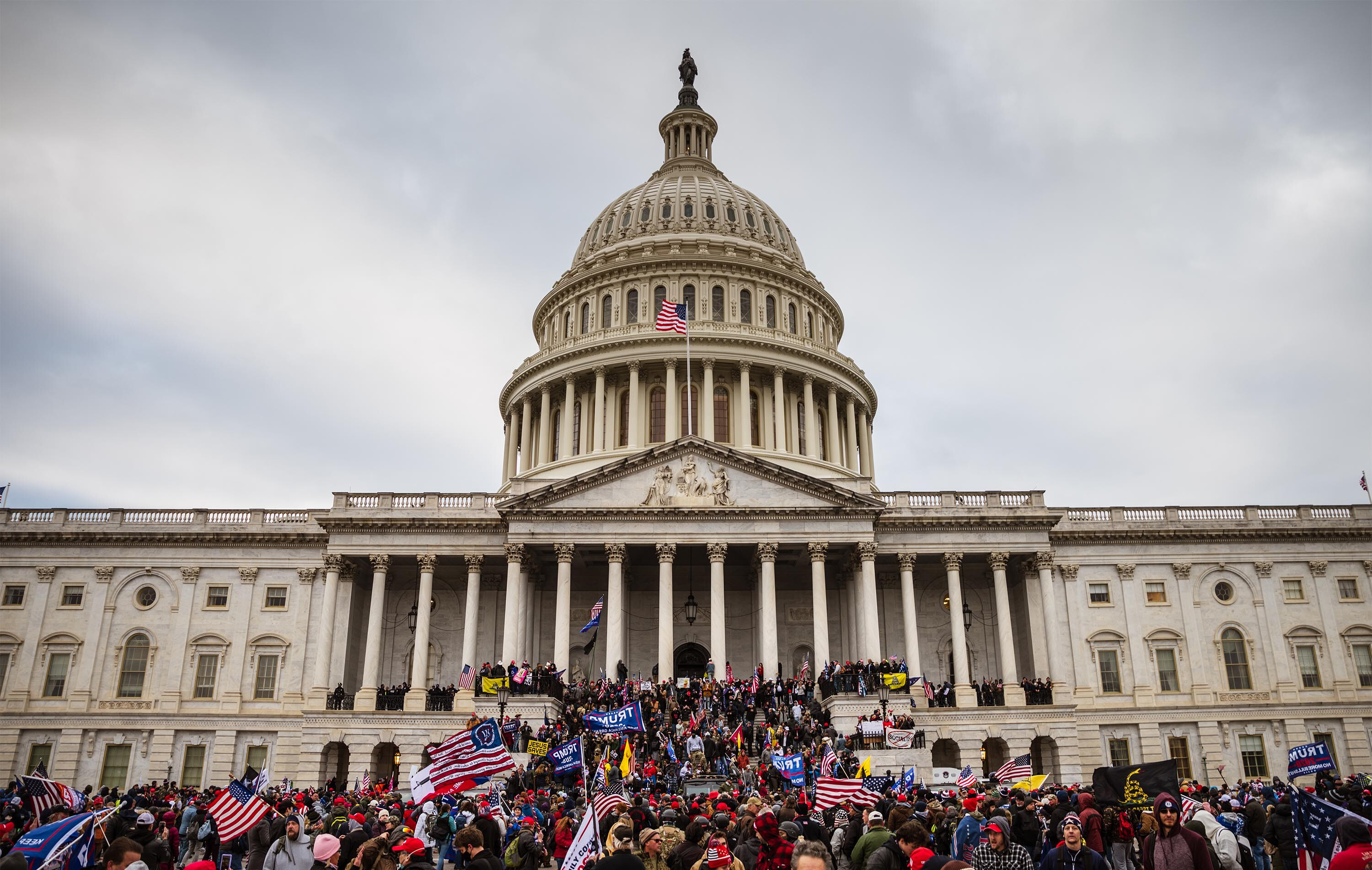 Capitol riot defendants raise more than $2 million from crowdfunding