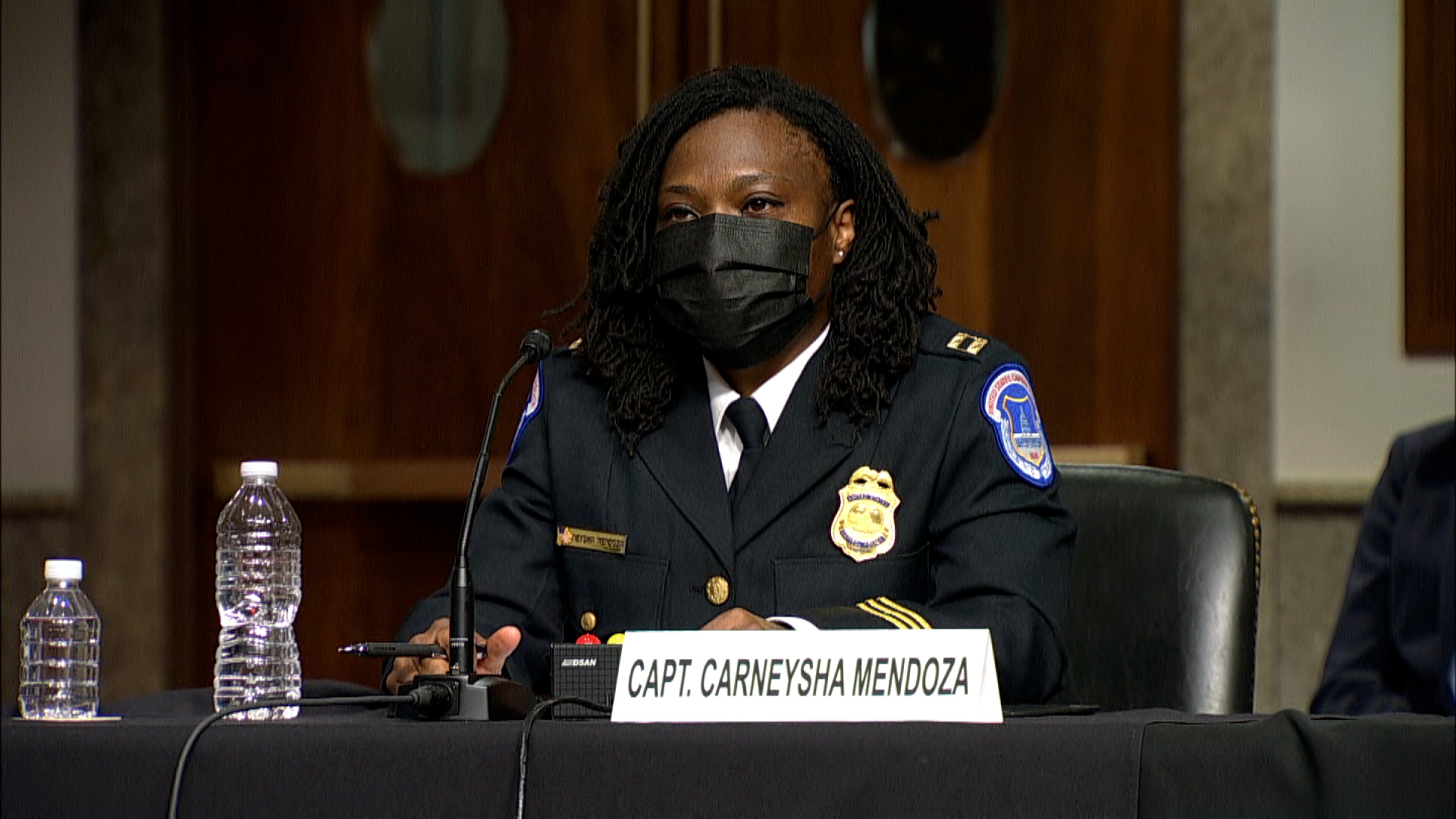 Capitol Police captain describes suffering chemical burns on her face during insurrection