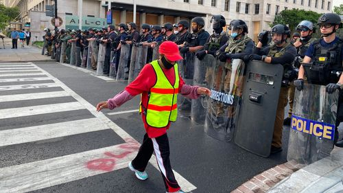 Image for Homeland Security agencies prepare for civil unrest amid heightened tensions nationwide