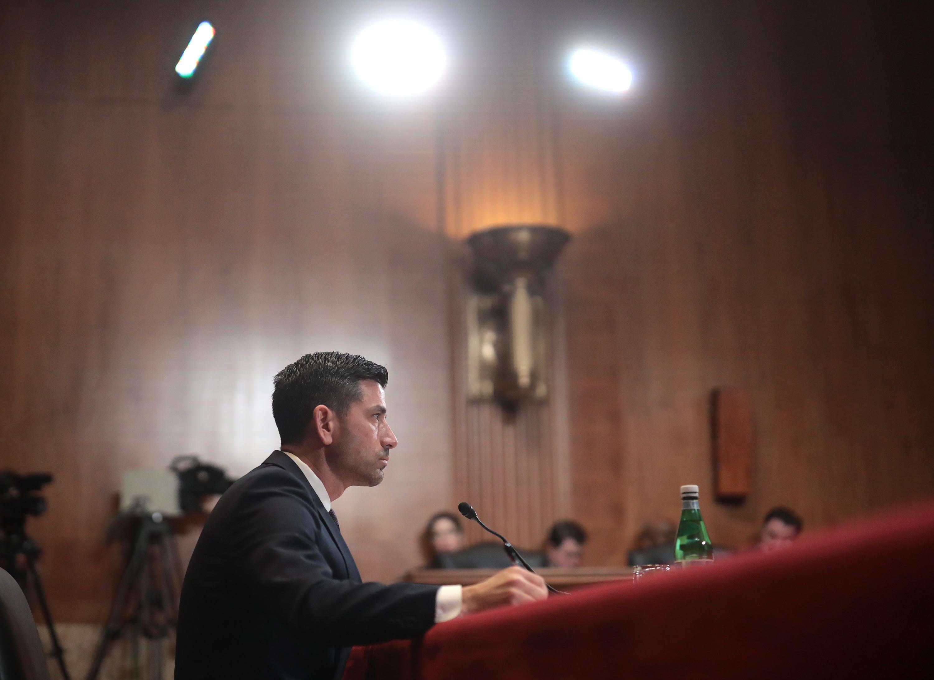 Chad Wolf faces Senate nomination hearing amid questions over intel assessments