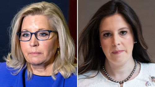 Image for Ousted Cheney warns direction of the party is 'dangerous' as Stefanik calls on GOP to move on