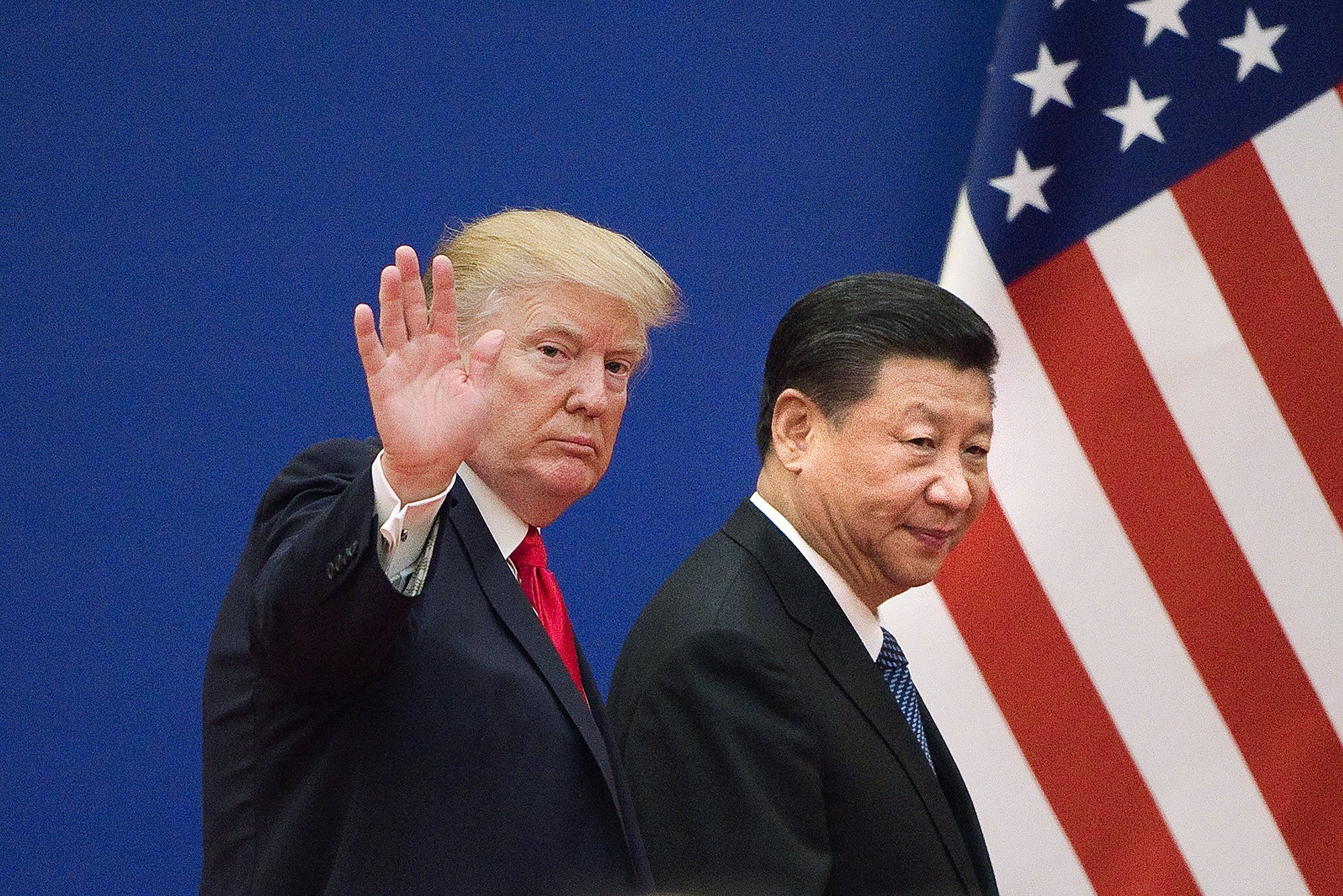 Trump and China confirm agreement on 'phase one' trade deal