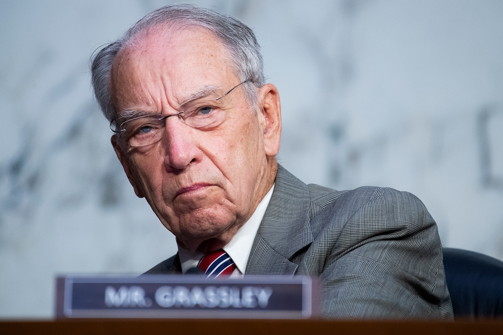 Grassley returns to Senate office after testing positive for Covid-19