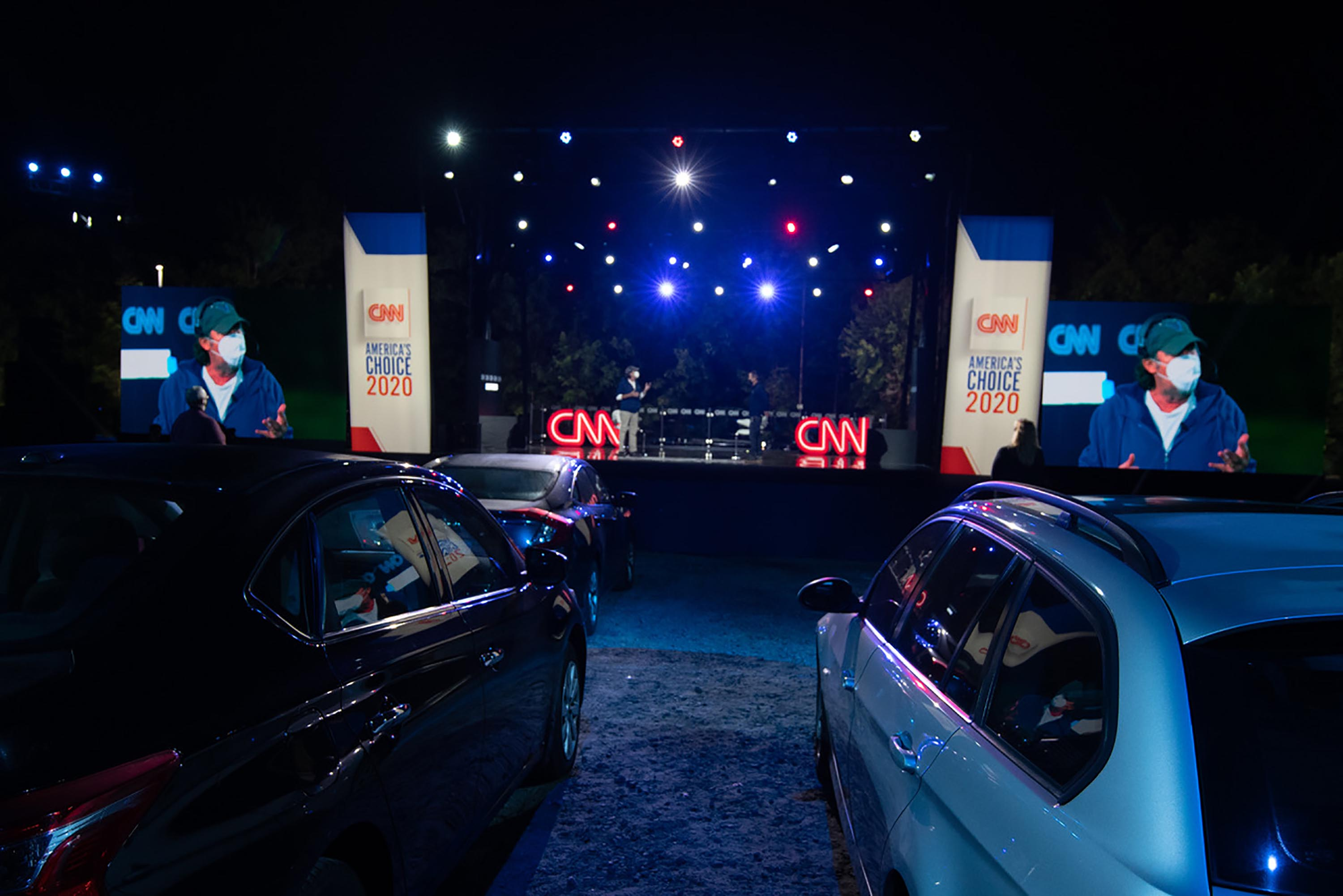 CNN to host first drive-in town hall due to coronavirus pandemic