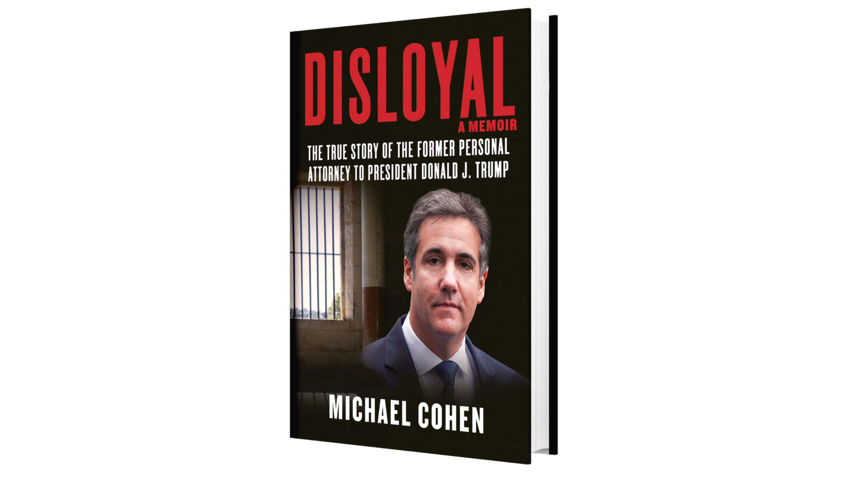 Michael Cohen teases upcoming book by releasing its cover